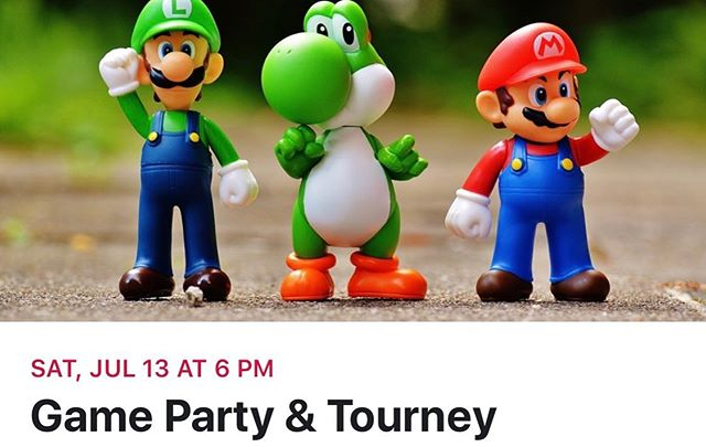 @thrivehueytown is hosting a game night and tournament on Saturday July 13 and you're invited! Come join us for video games, board games, and lawn games. There'll be tourneys for Mario Kart 64, Rocket League, Scrabble, and Twister. See you there! For more info find us on facebook - Thrive Hueytown . . . #thrive #hueytown #thrivehueytown #videogames #boardgames #mariokart