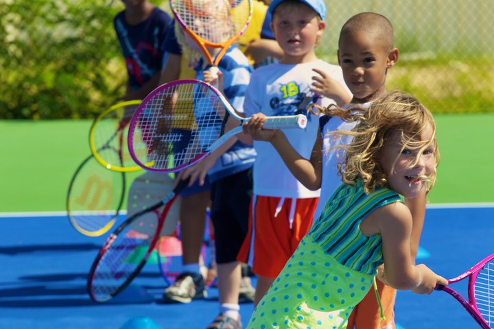 OUTDOOR TENNIS CAMP - Our outdoor facility is in the heart of Manhattan for the best camp experience! We offer your child stroke development through fun drills and games. Our dedicated coaches will ensure each camp day will be new and exciting!