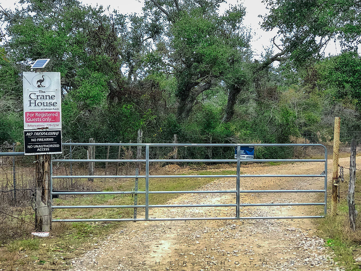 J ohnson Ranch Entrance   Aransas County  TX
