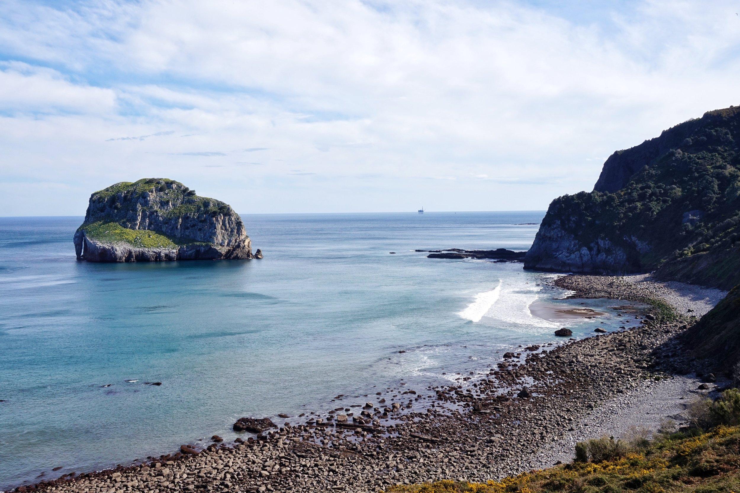 SAN JUAN DE GAZTELUGATXE'S SEA VIEWS