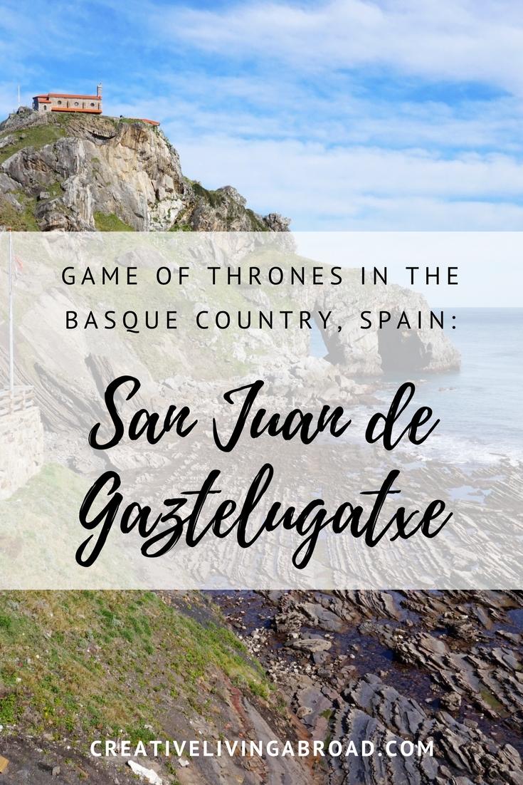 Game of Thrones in the Basque Country Spain San Juan de Gaztelugatxe