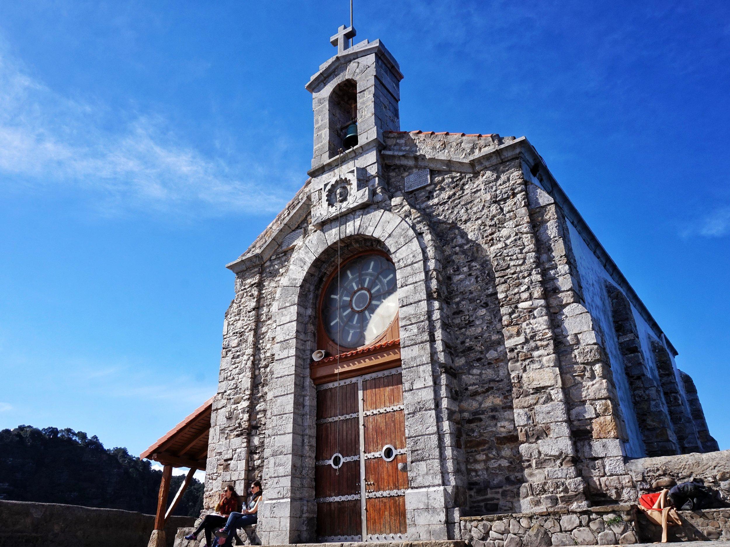 SAN JUAN DE GAZTELUGATXE'S CHURCH