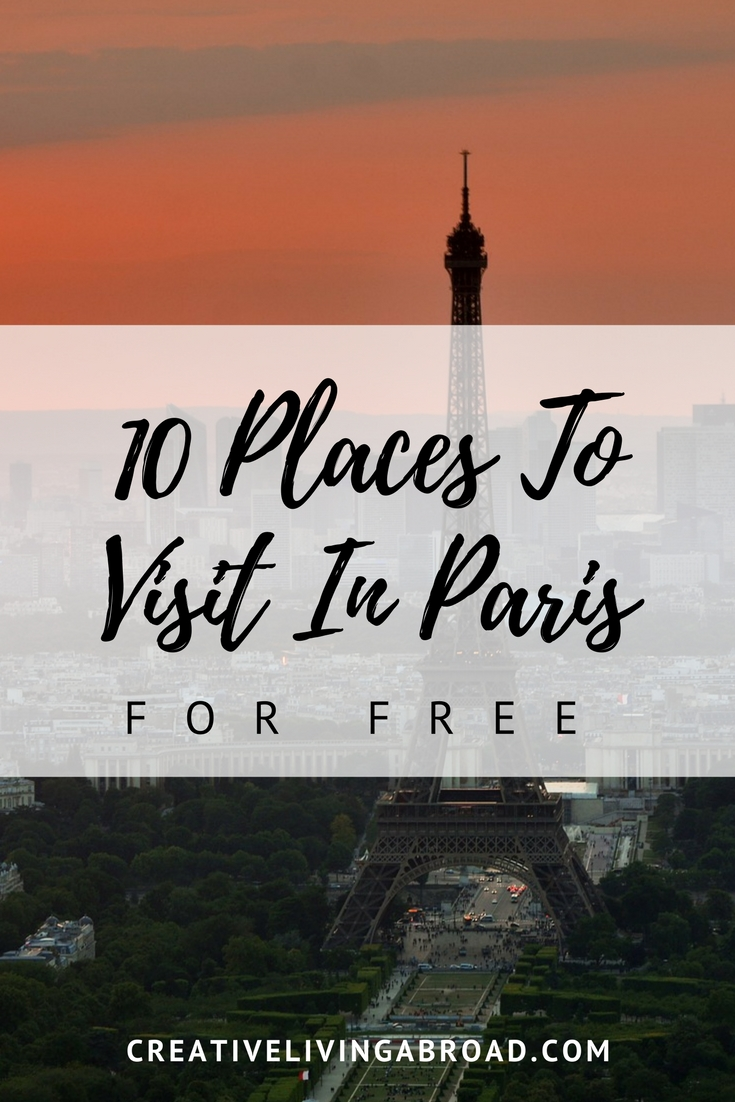 10 places to visit in Paris for free