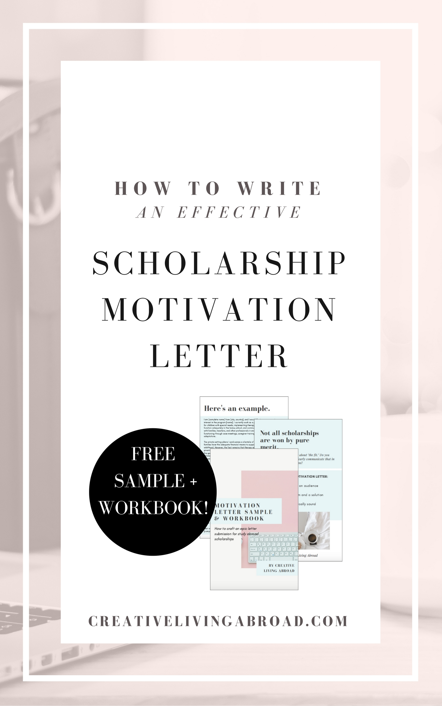 How to Write an Effective Scholarship Motivation Letter ...