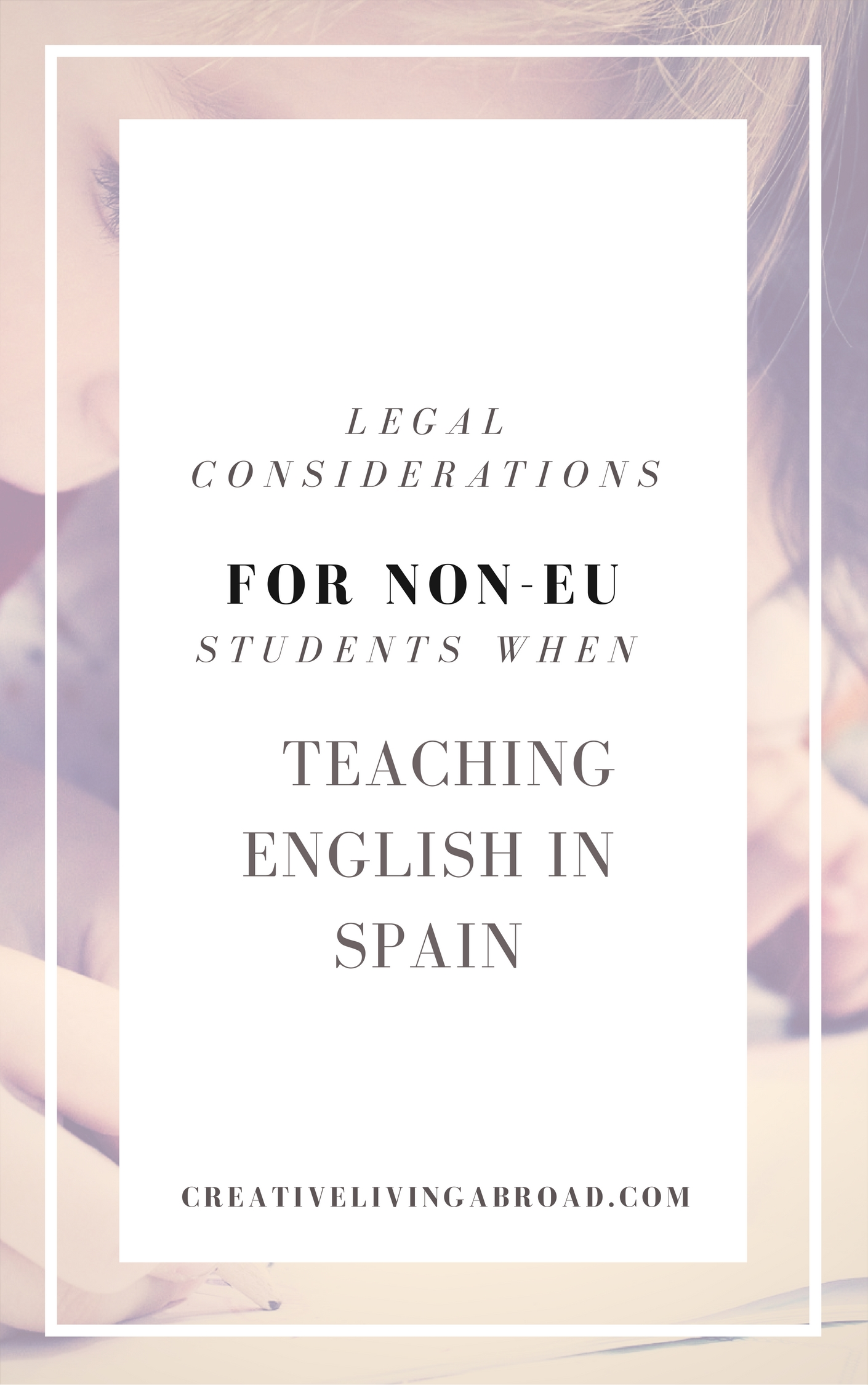 legal considerations students working in spain english teacher