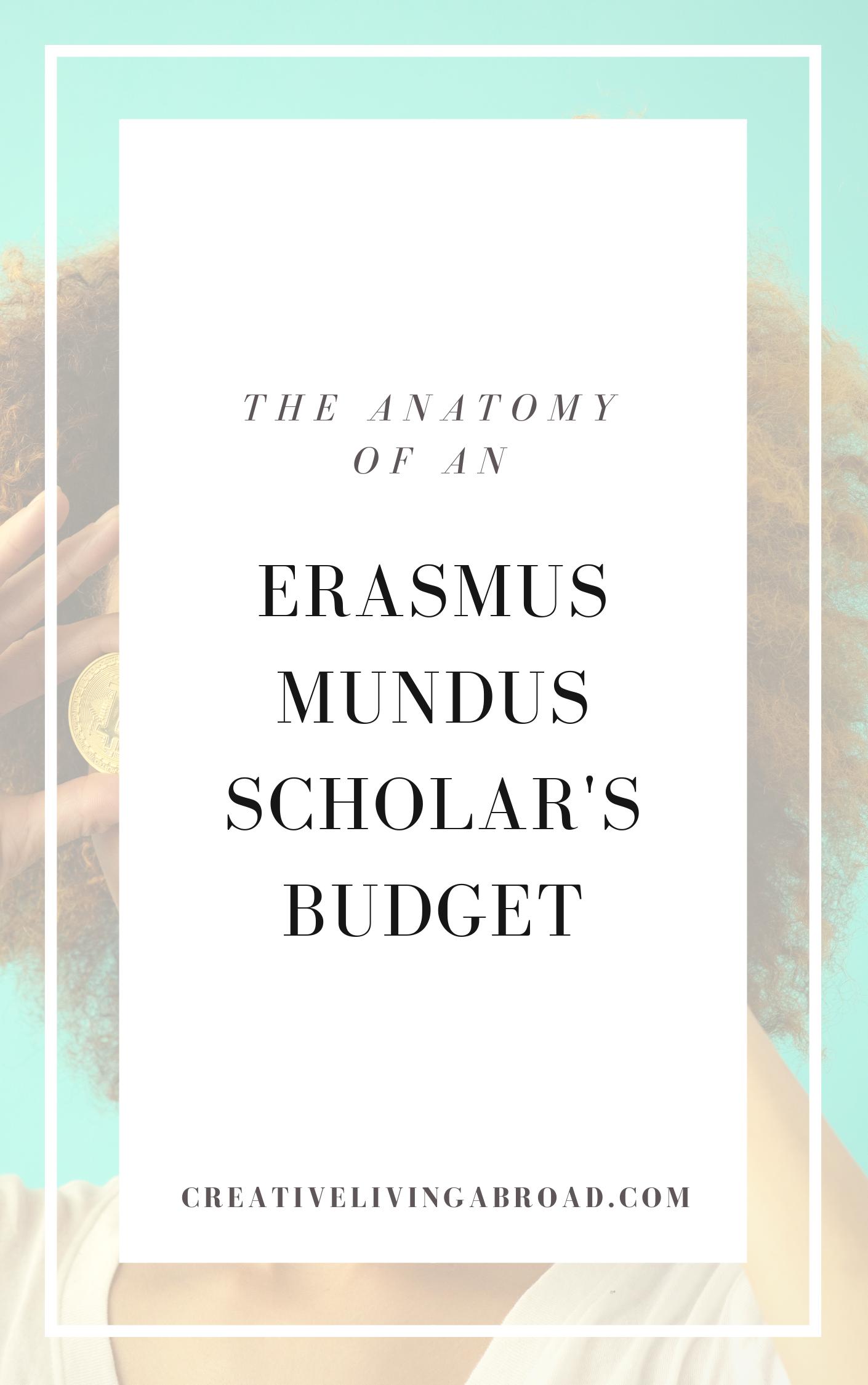 budget scholar abroad erasmus