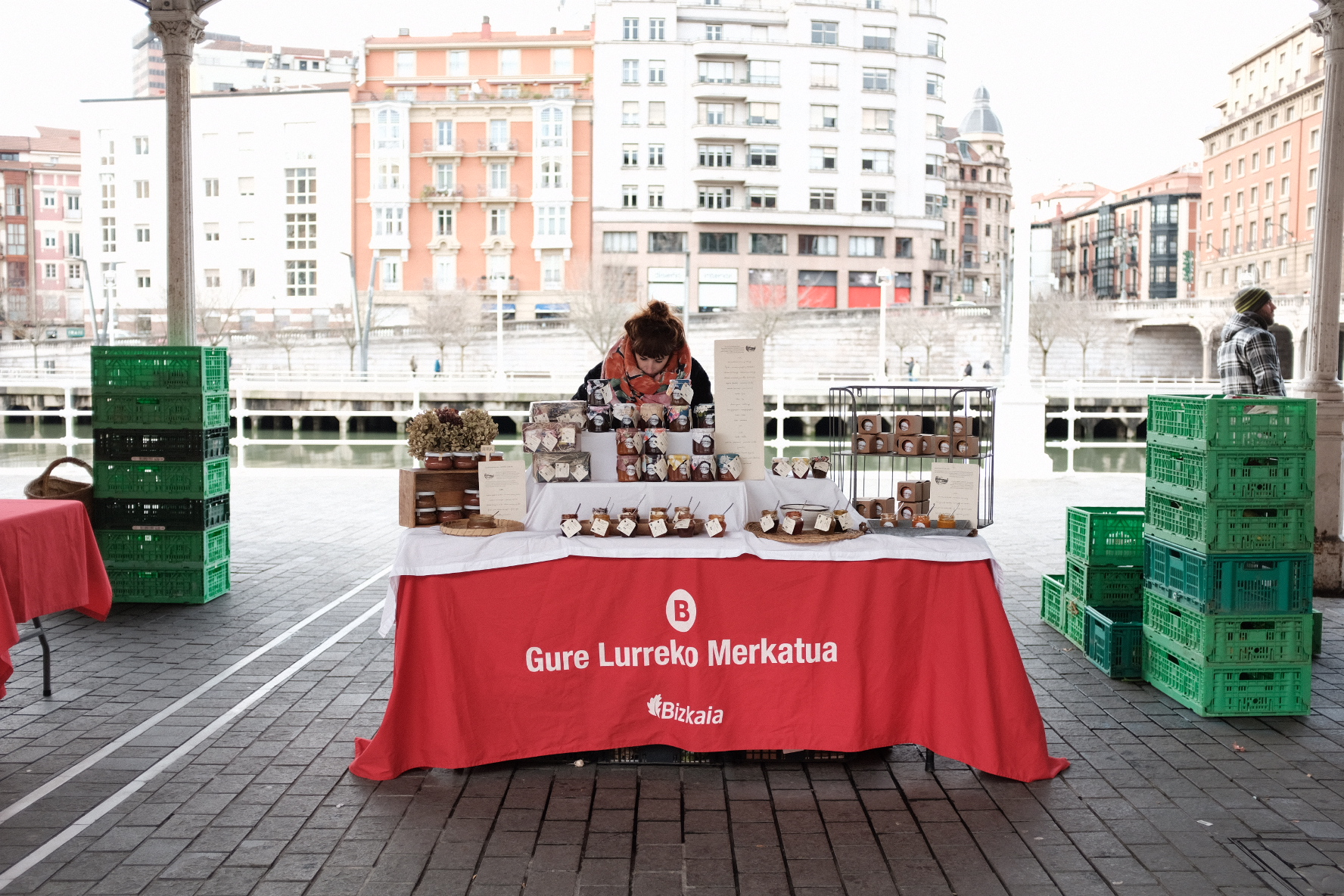 saturday market bilbao arenal