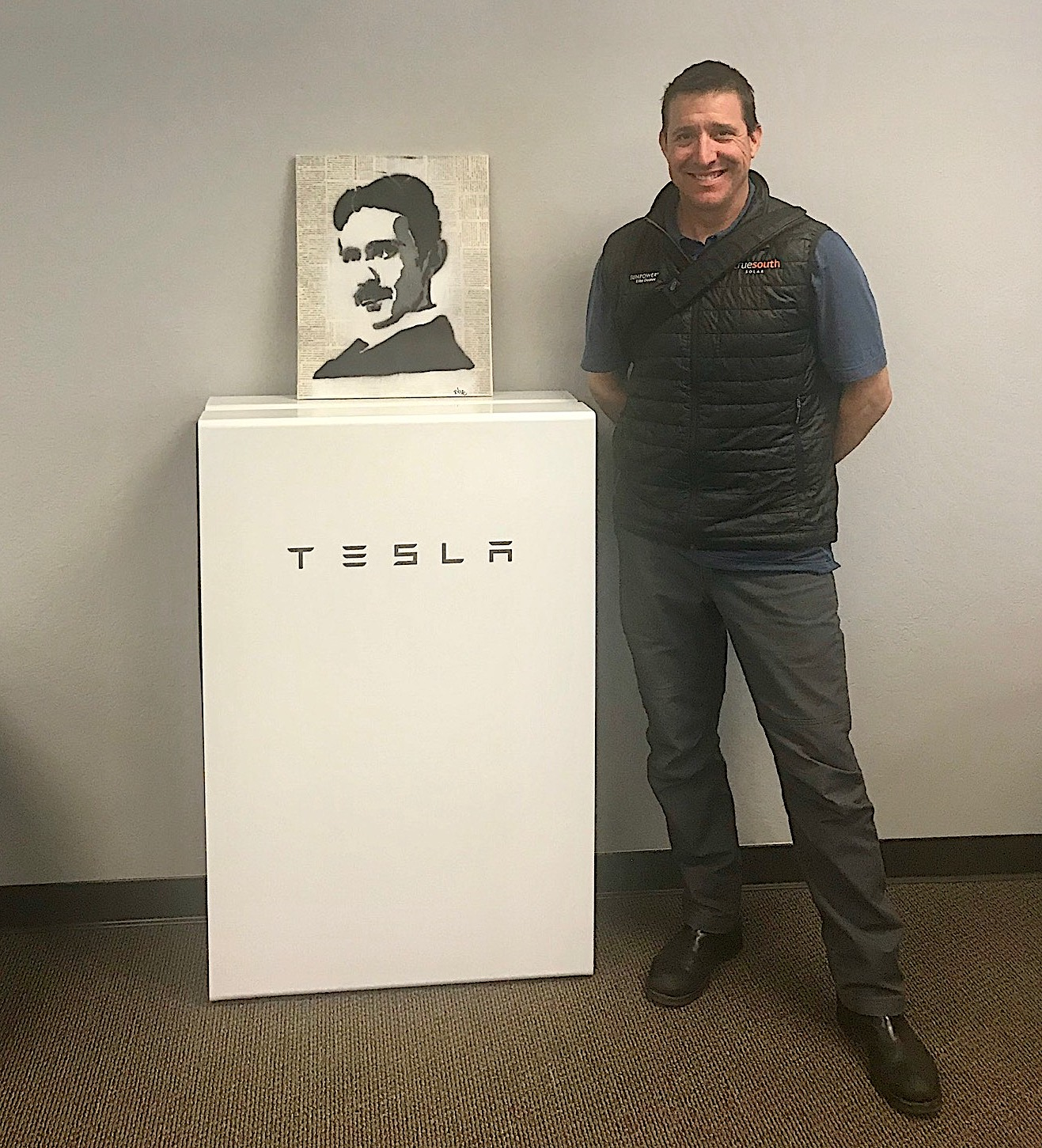 - True South Solar is now a Tesla Powerwall Certified Installer, which means we now offer a customized solar-plus-battery solution that enables you to access the abundant power of the sun and reduces your reliance on fossil fuels.