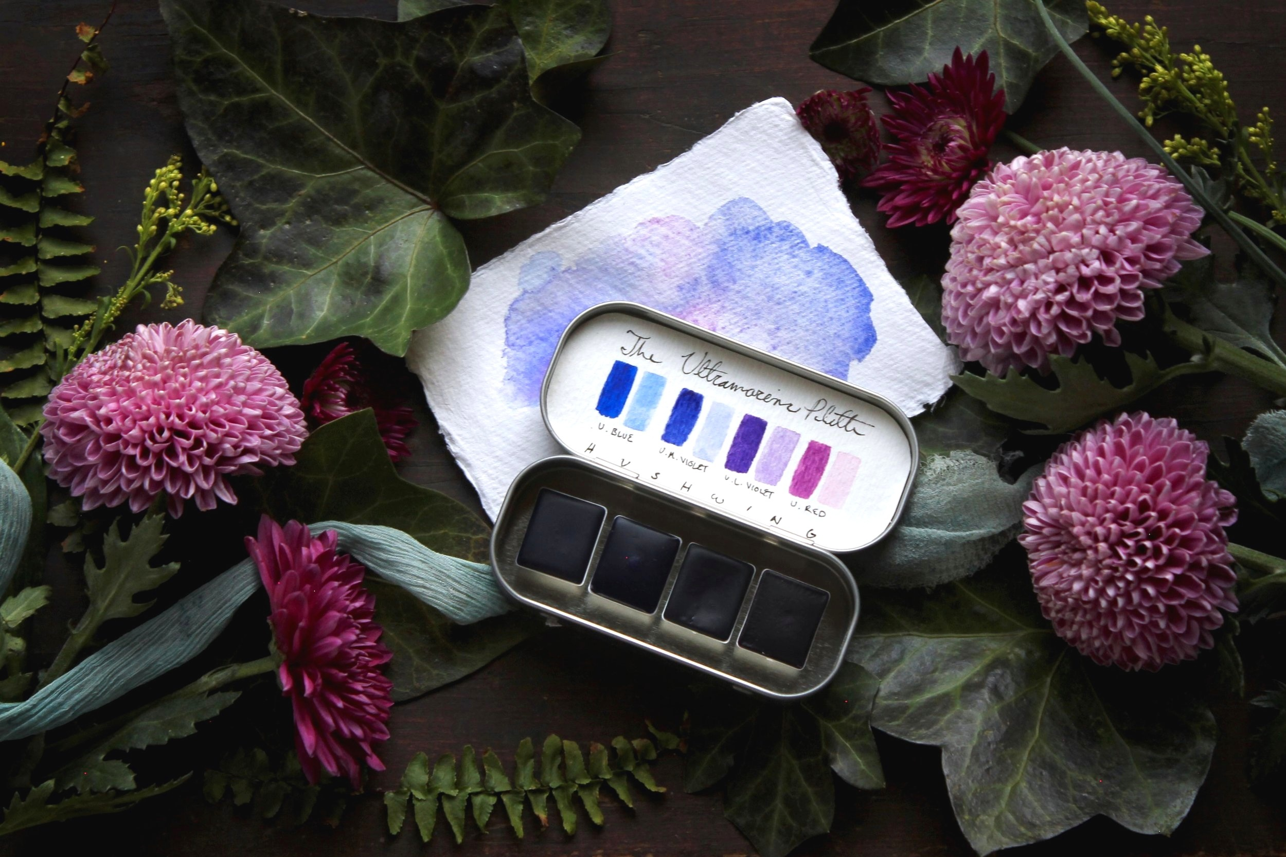 The Ultramarine Palette - Learn more about the newest addition to our collection