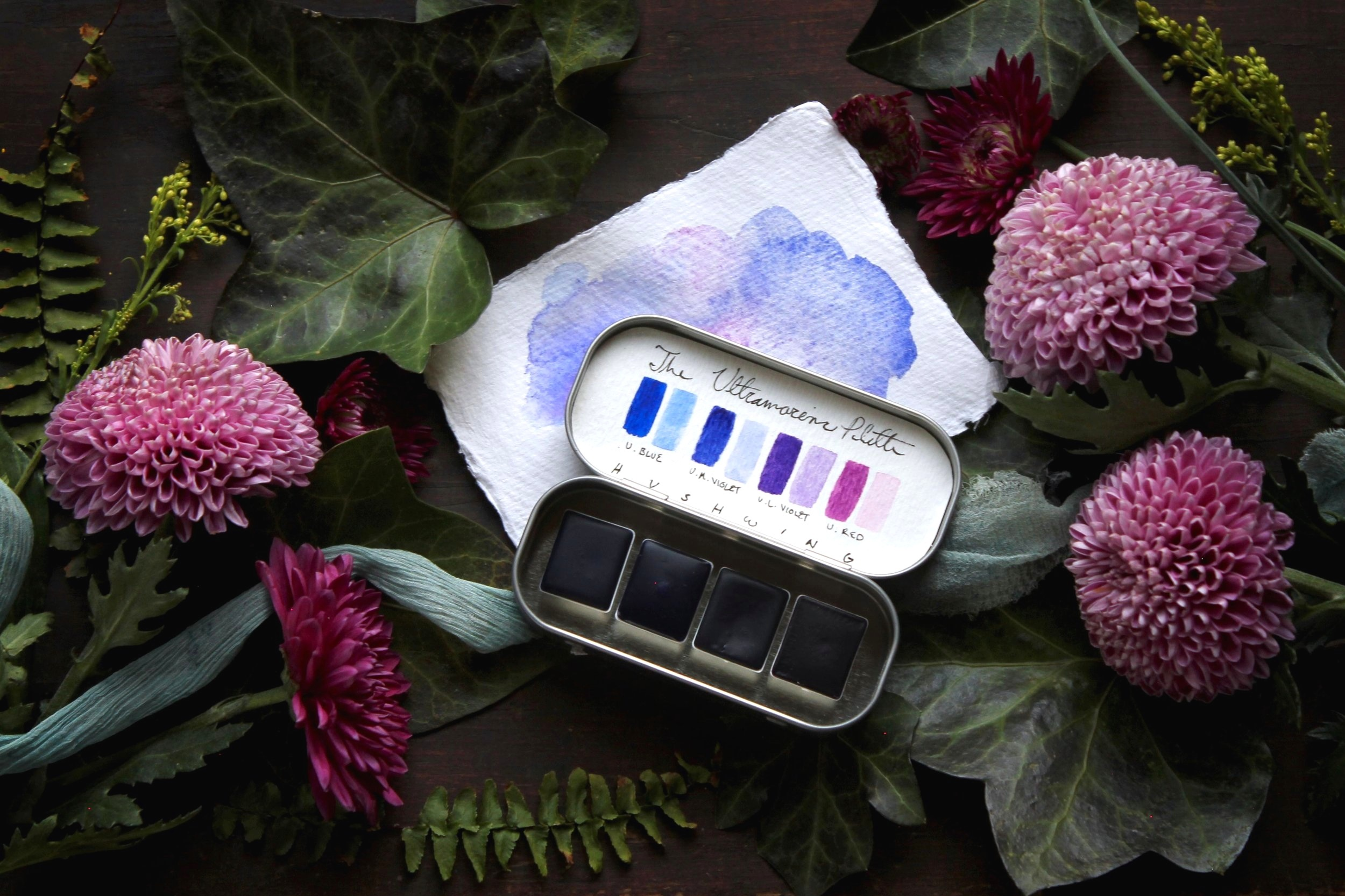 The Ultramarine Palette - Explore our limited edition collection of artist's supplies!