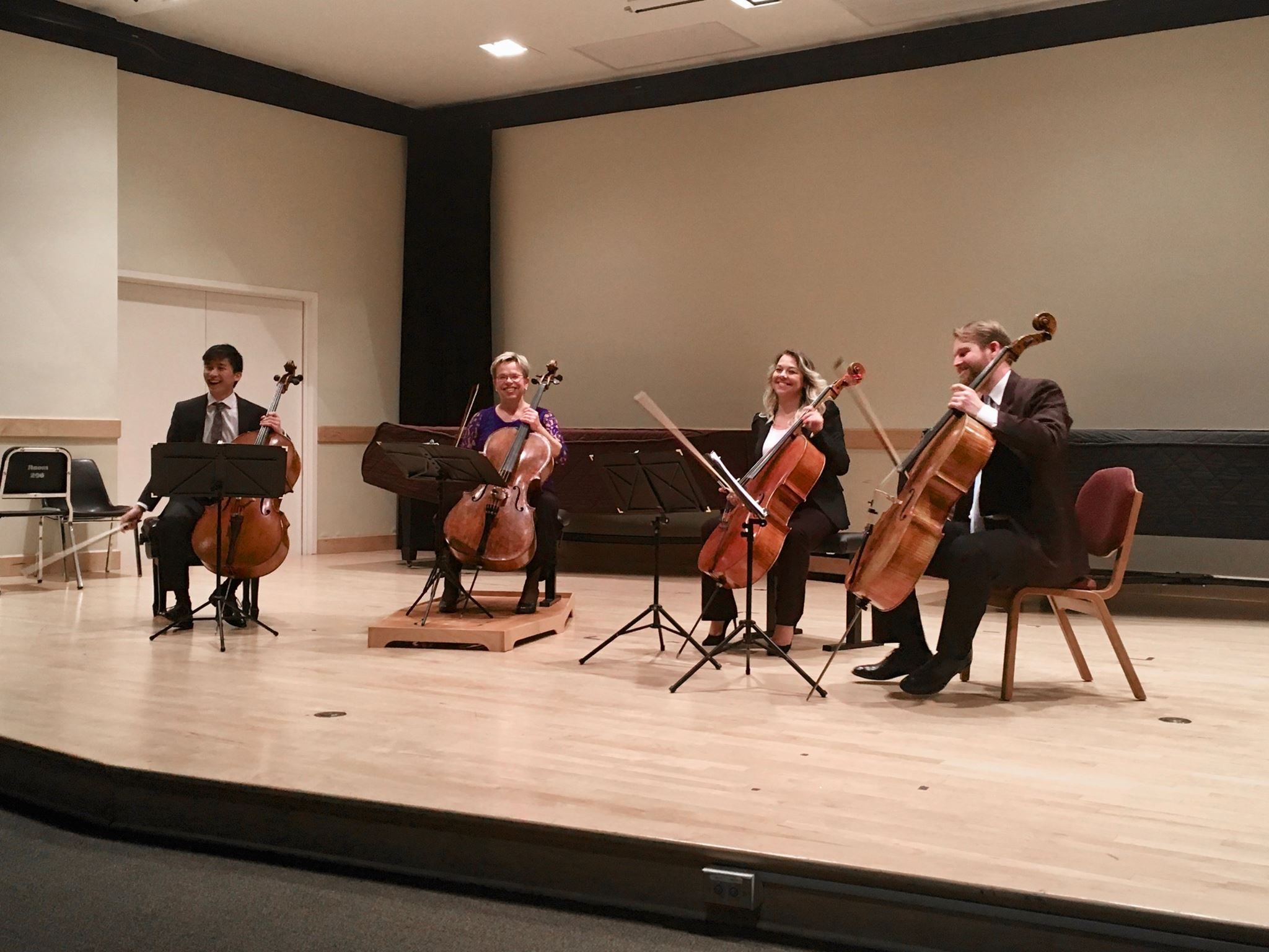 PCQ performs with special guest cellist PSO Principal Cello Anne Martindale Williams
