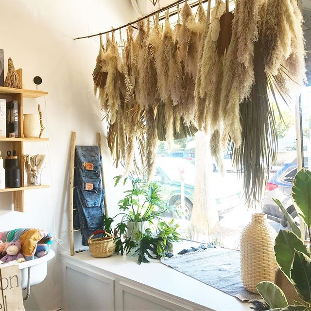 Had so much fun creating this window installation for @littlemoonsociety 🌾. I have some one of a kind pieces hanging pretty too, so be sure to snag 'em before they're gone! ✨