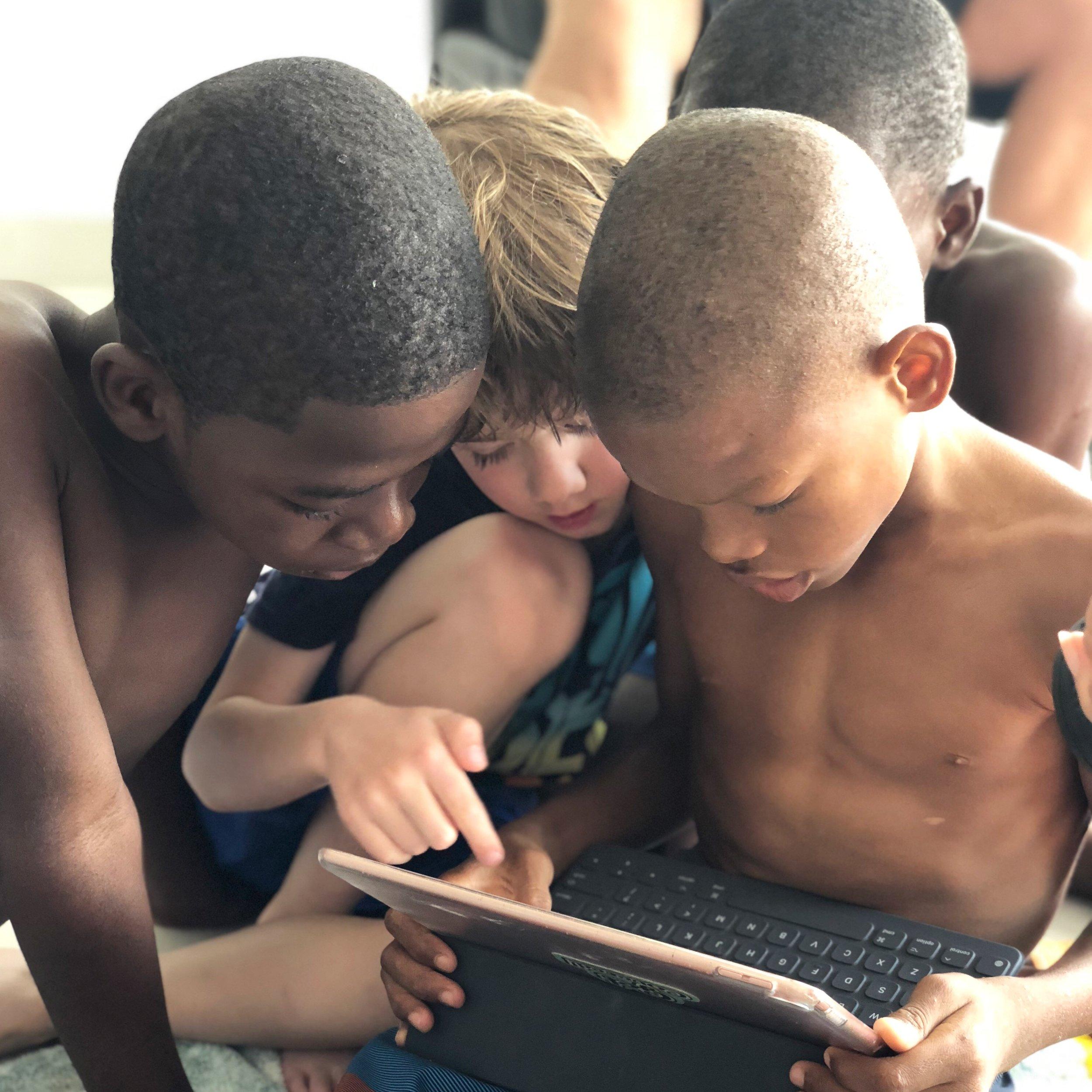 Haiti - Martell boys