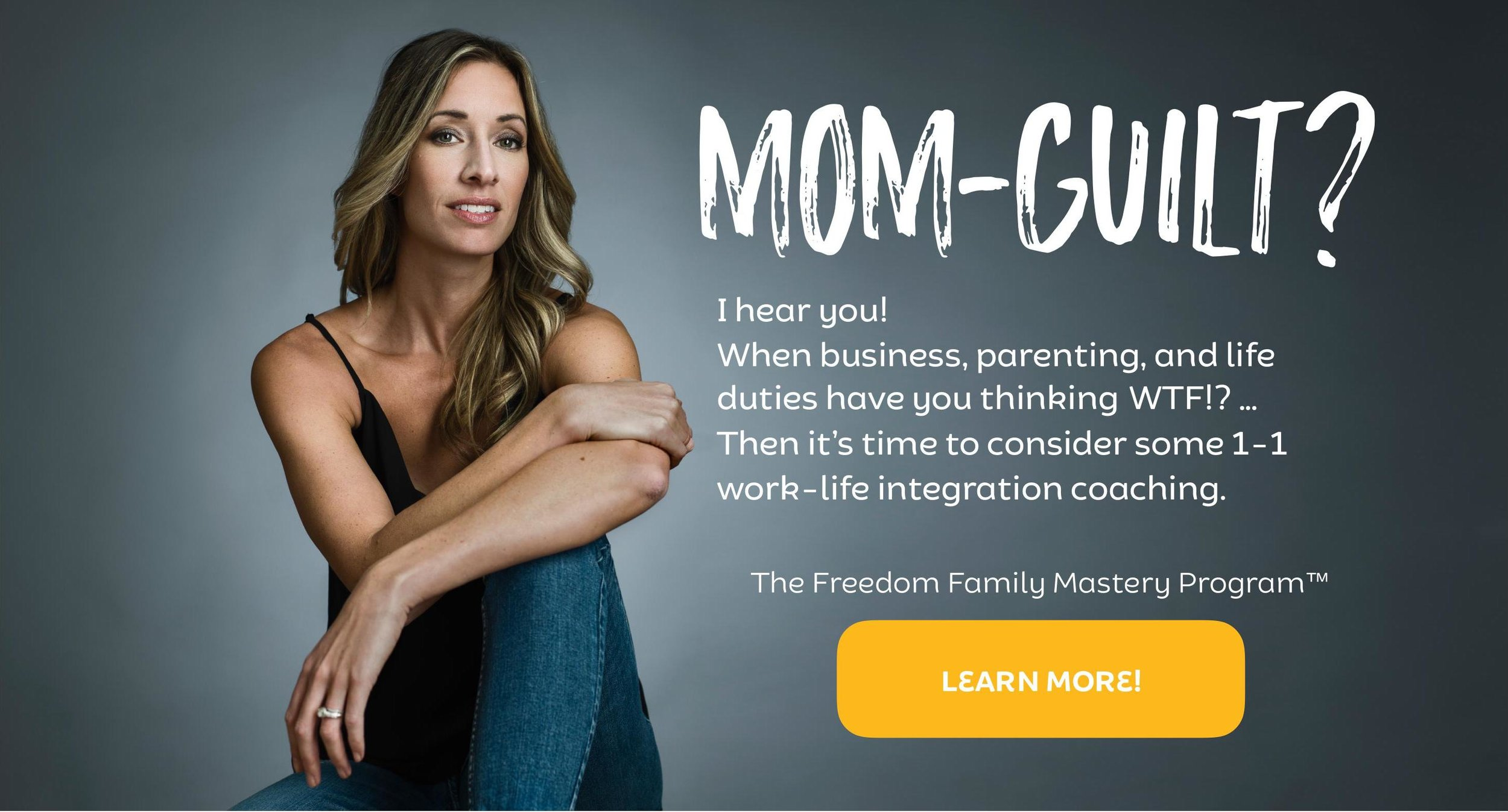 Mom guilt. How to overcome mom guilt
