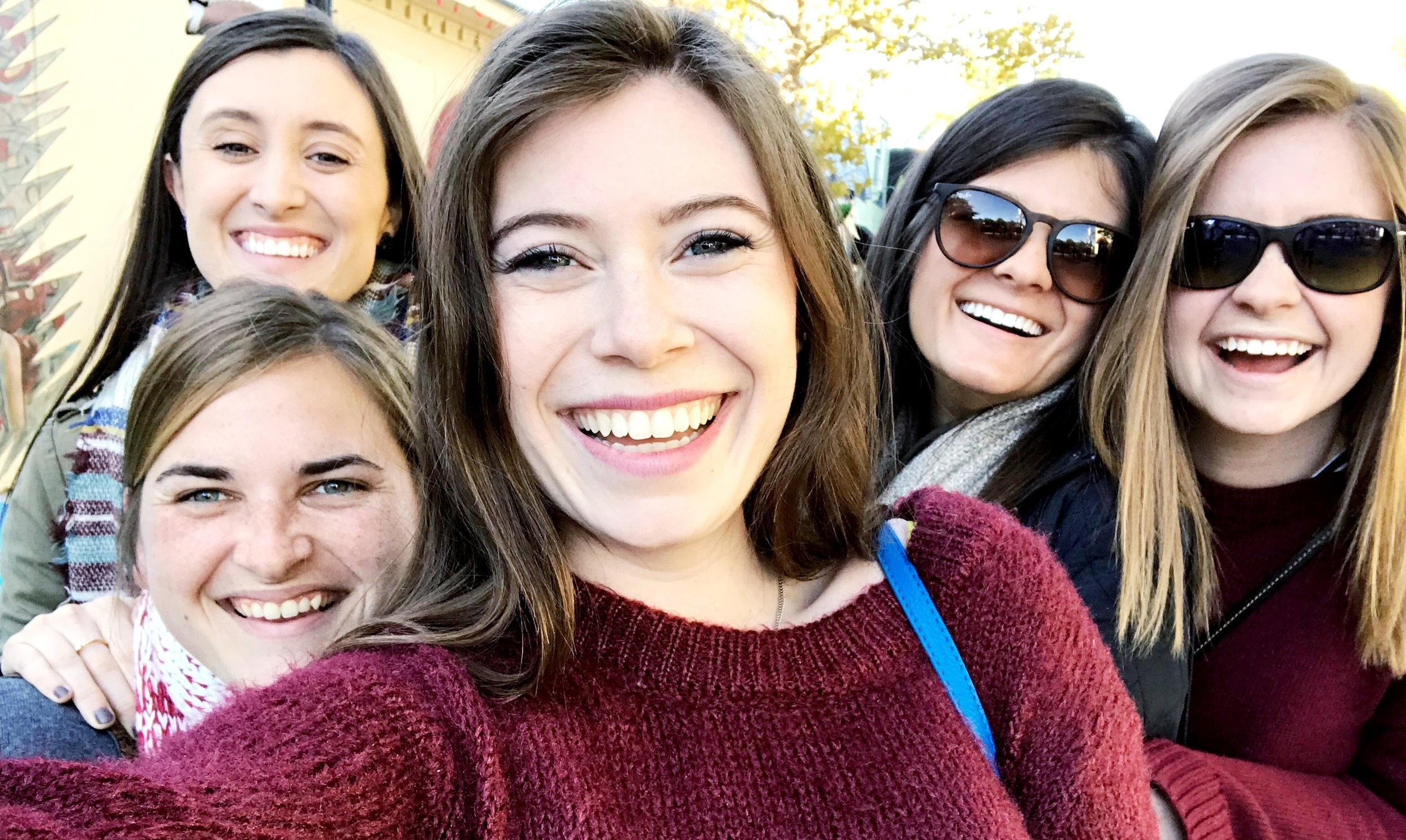 sometimes all ya need is a day of laughing with your girls