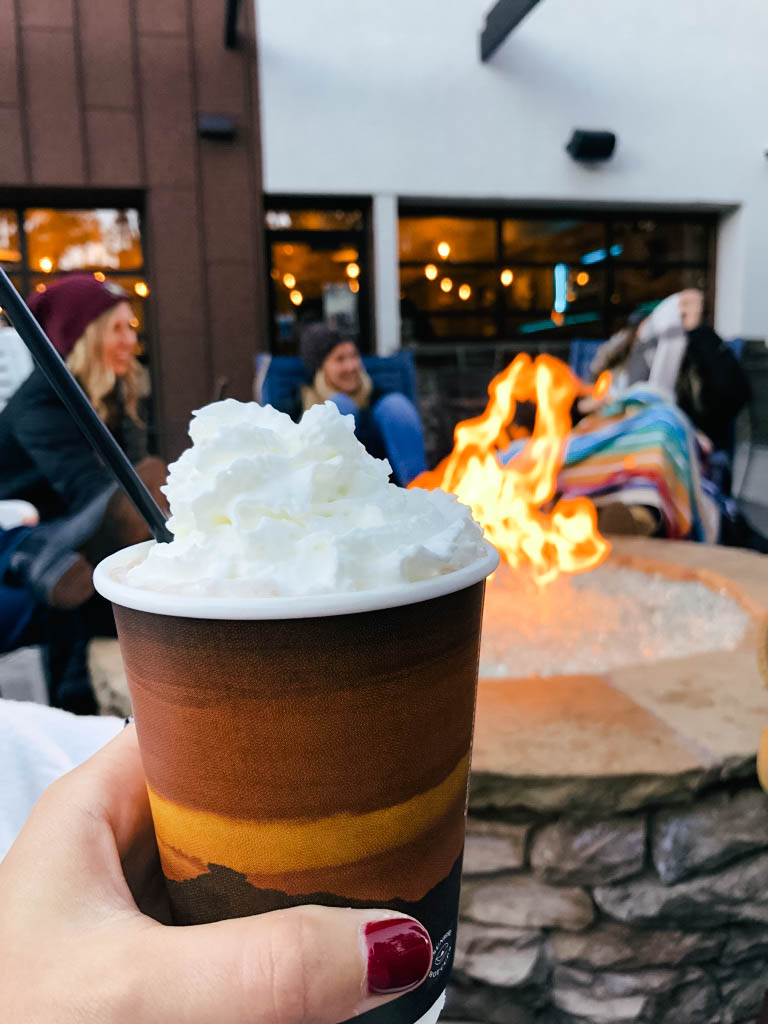 *goes to a pour-your-own* *orders hot chocolate*