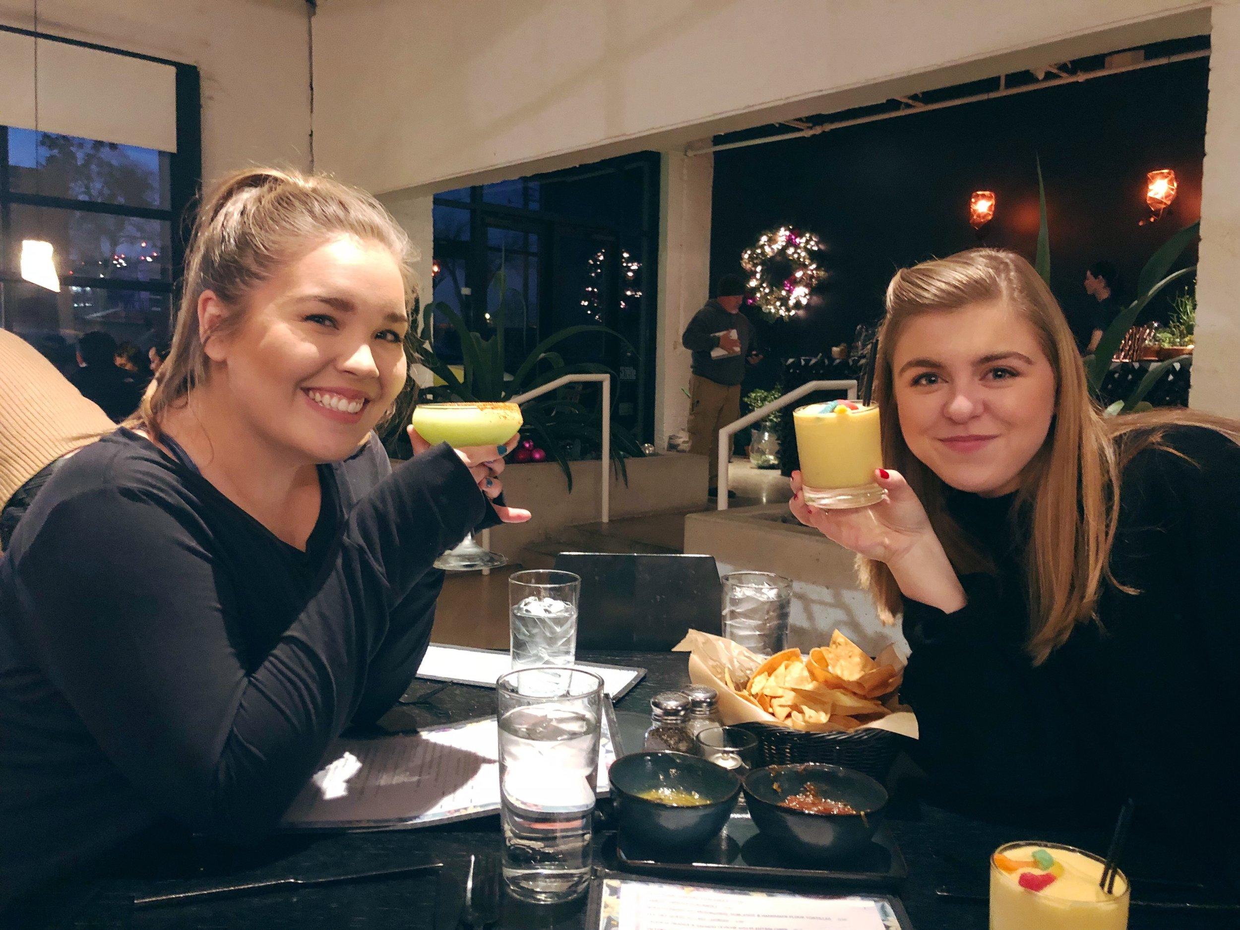 Best girls, best food, best drinks, best city.