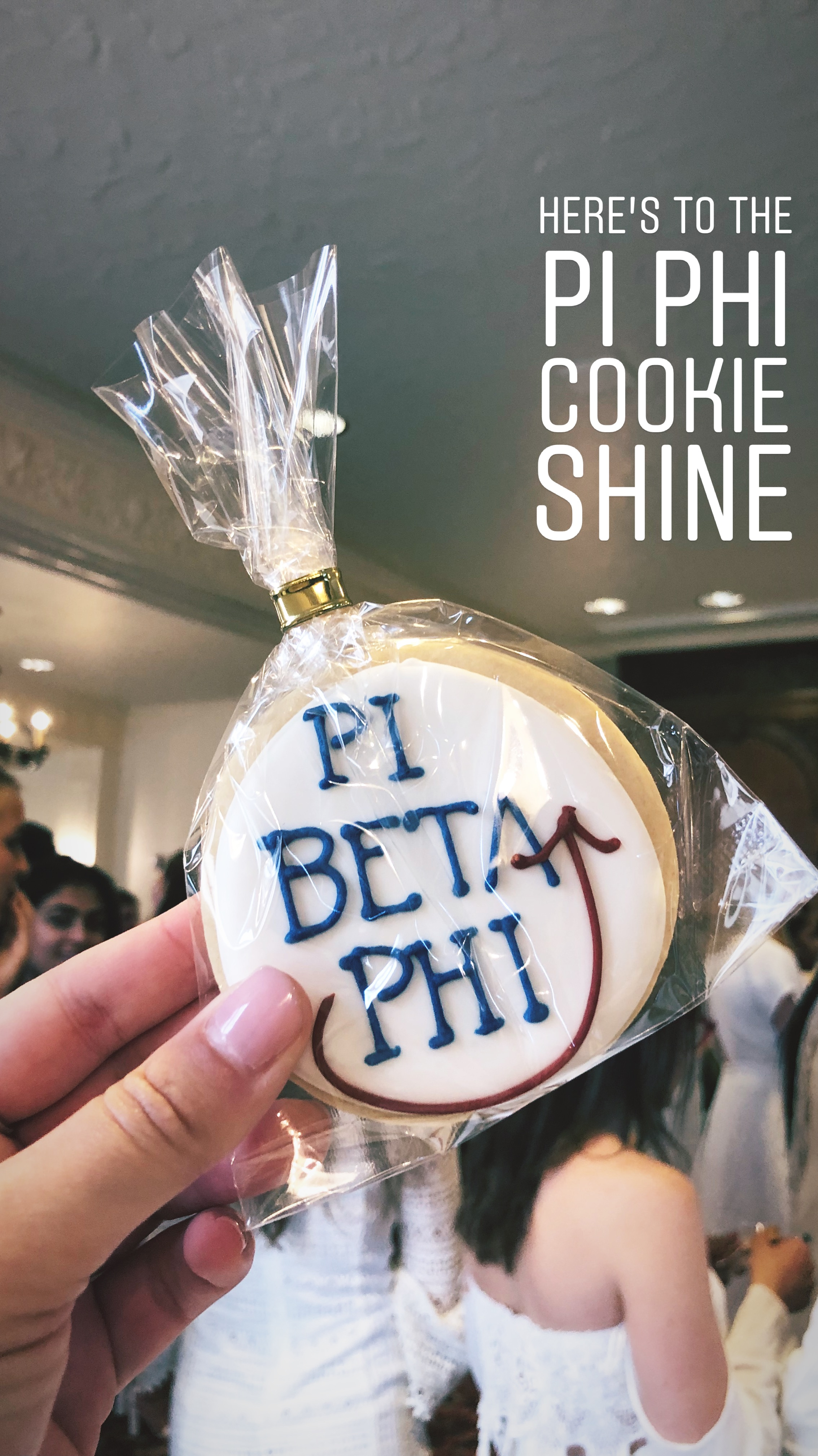 """""""Oh what is so fine as a cookie shine under the wine and blue?!"""""""