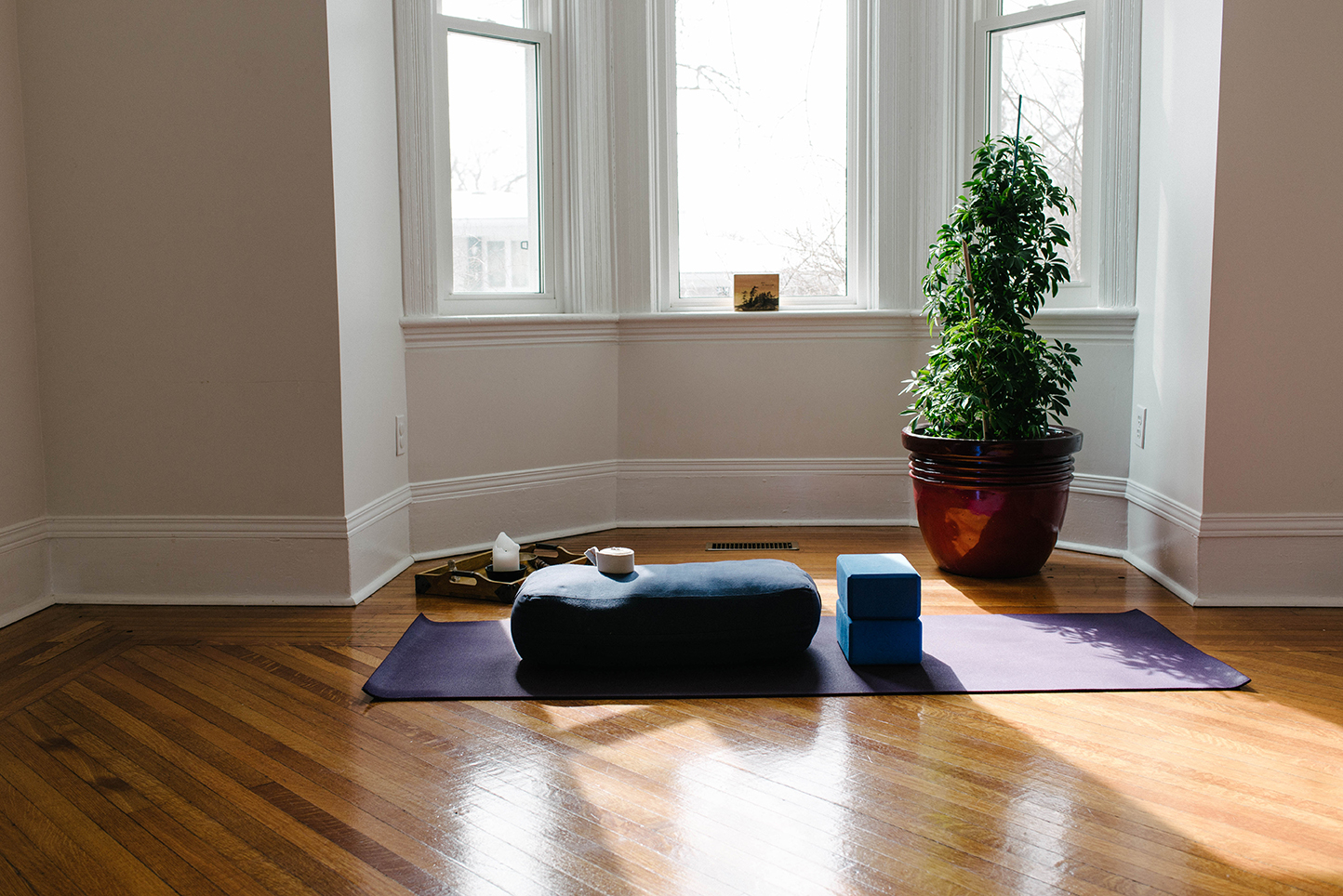 Developing your at home yoga practice