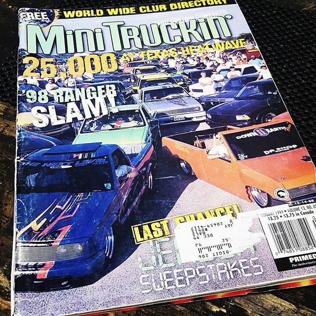 Found this gem in the shop today. #minitruckin since 98 #trucks  #classic #minitruckinmagazine