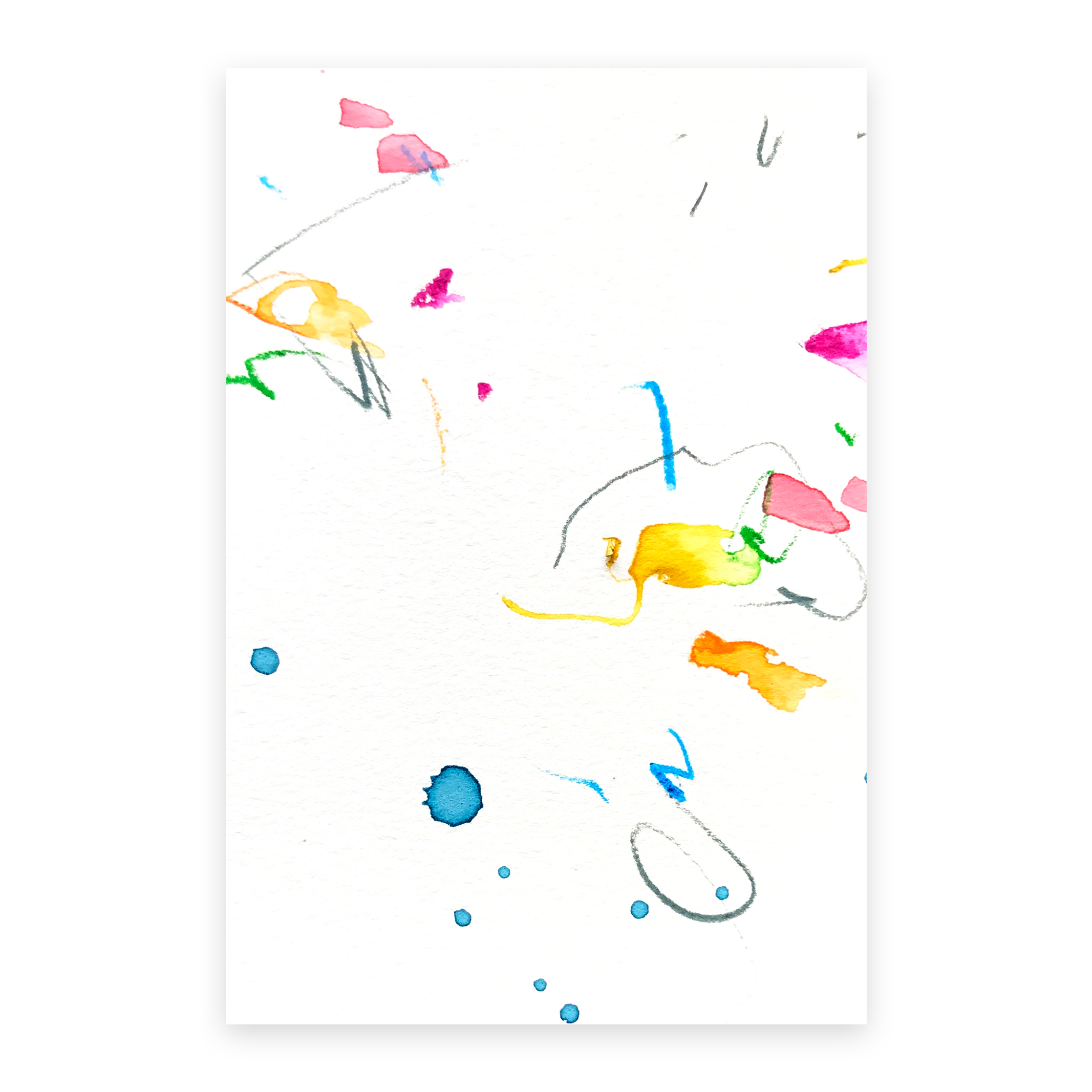 dd_oct24181  Mixed media on paper 14.8×10cm