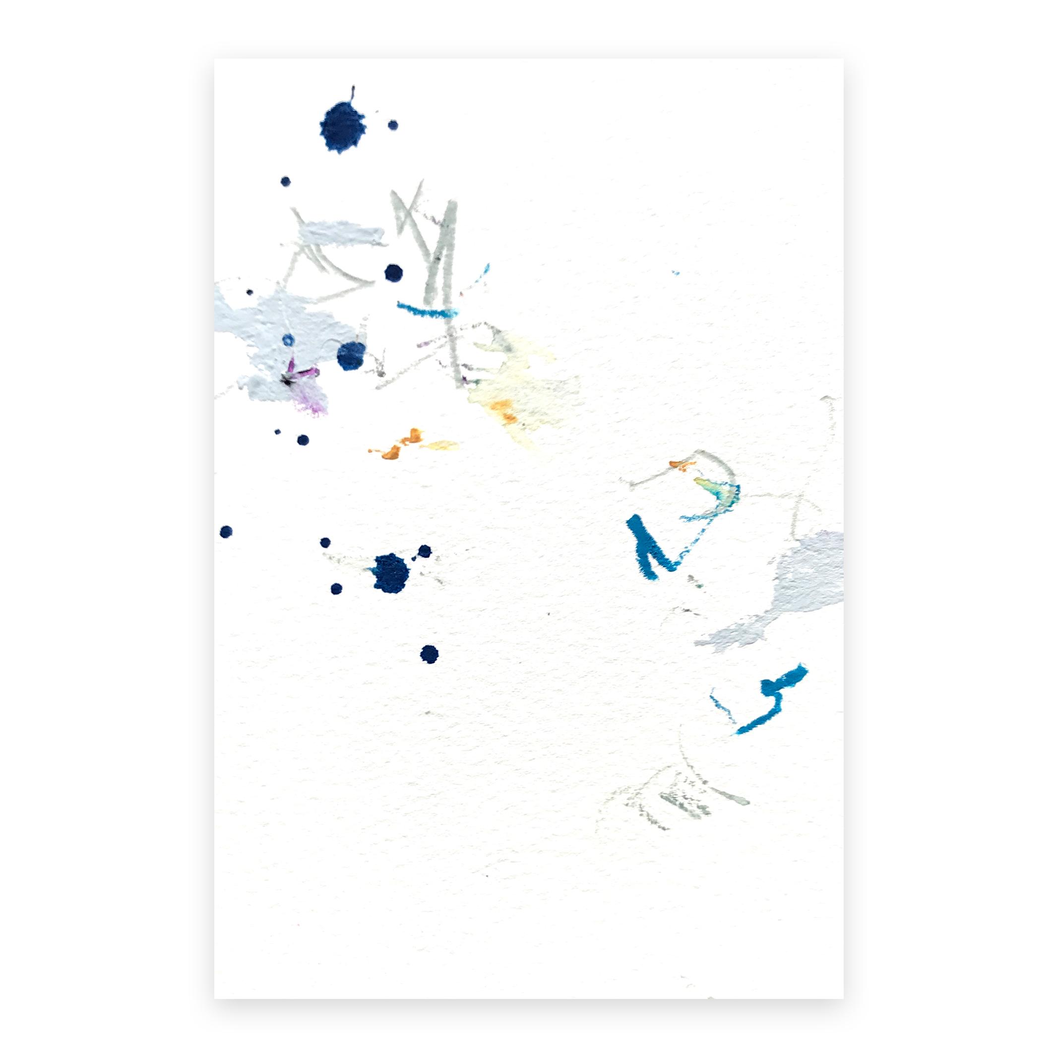 dd_nov05182  Mixed media on paper 14.8×10cm