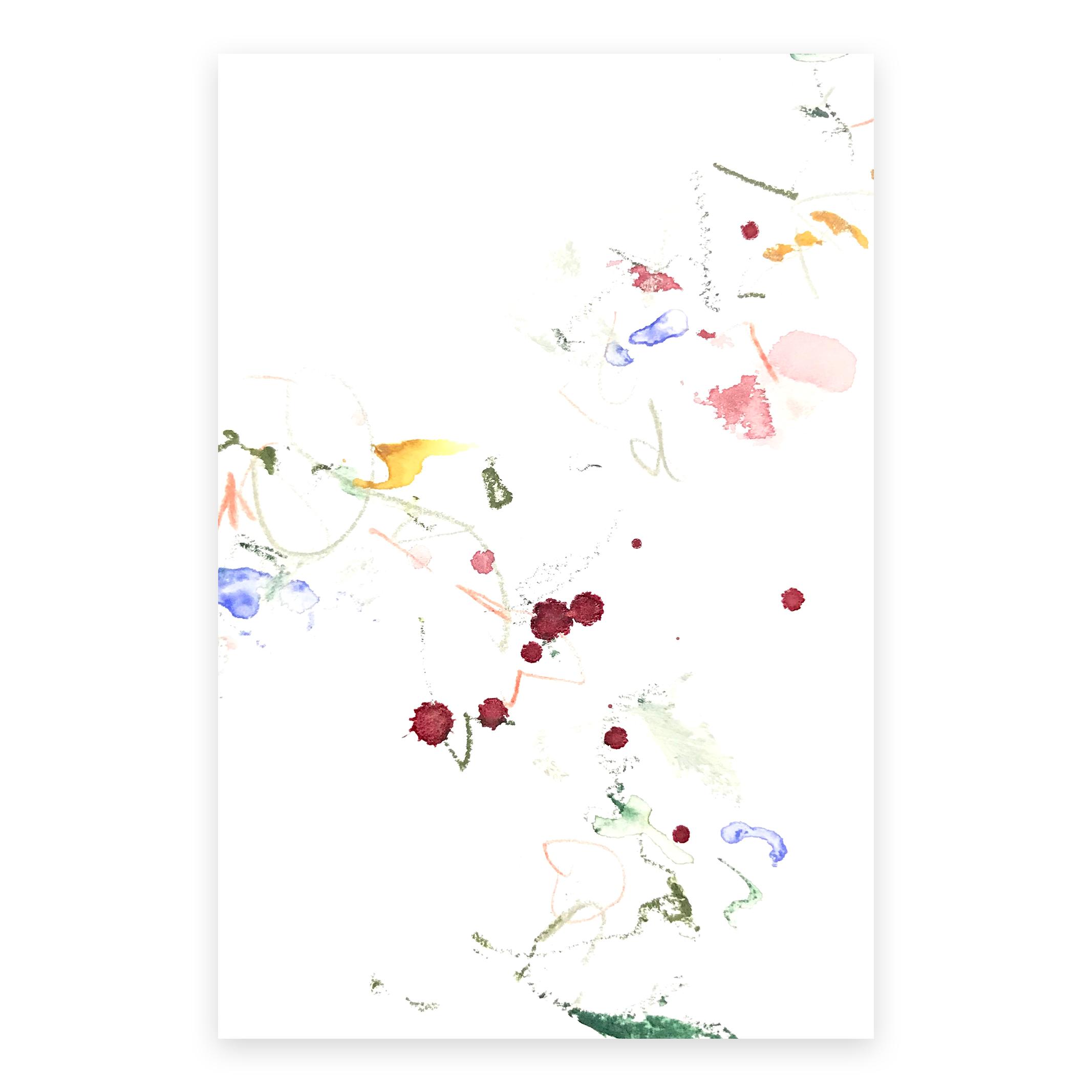 dd_nov09182  Mixed media on paper 14.8×10cm