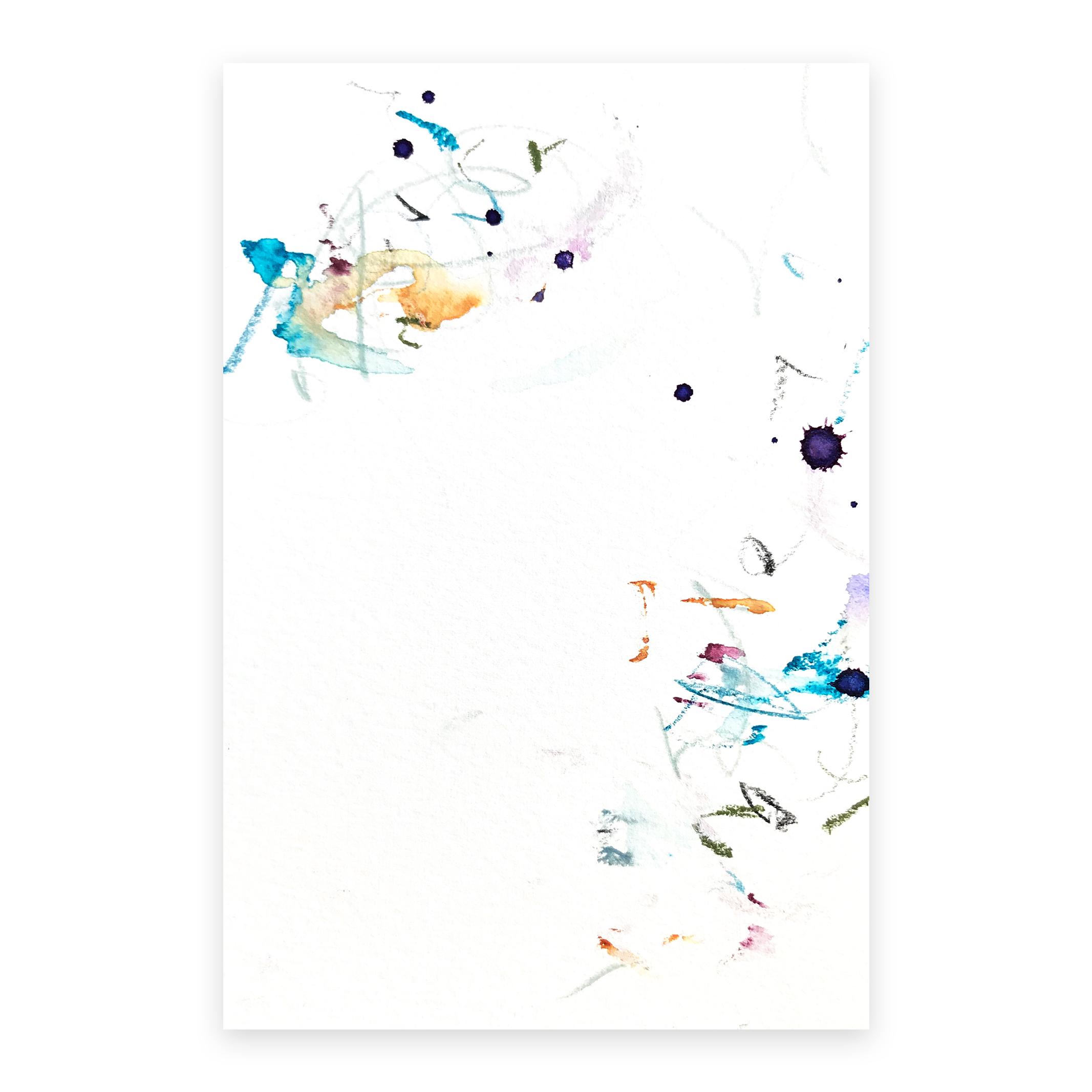 dd_nov14181  Mixed media on paper 14.8×10cm