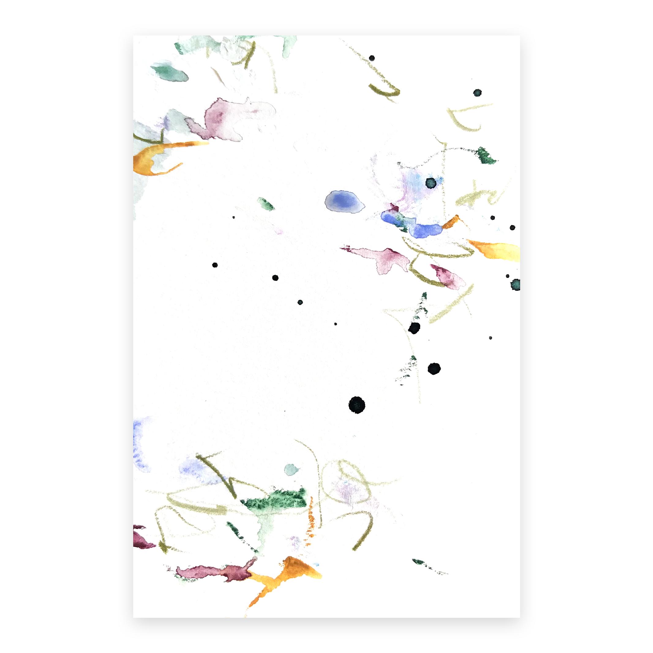 dd_nov15181  Mixed media on paper 14.8×10cm