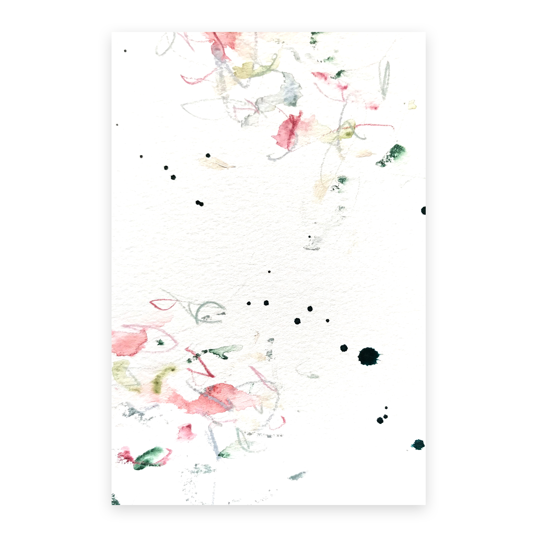 dd_nov22181  Mixed media on paper 14.8×10cm
