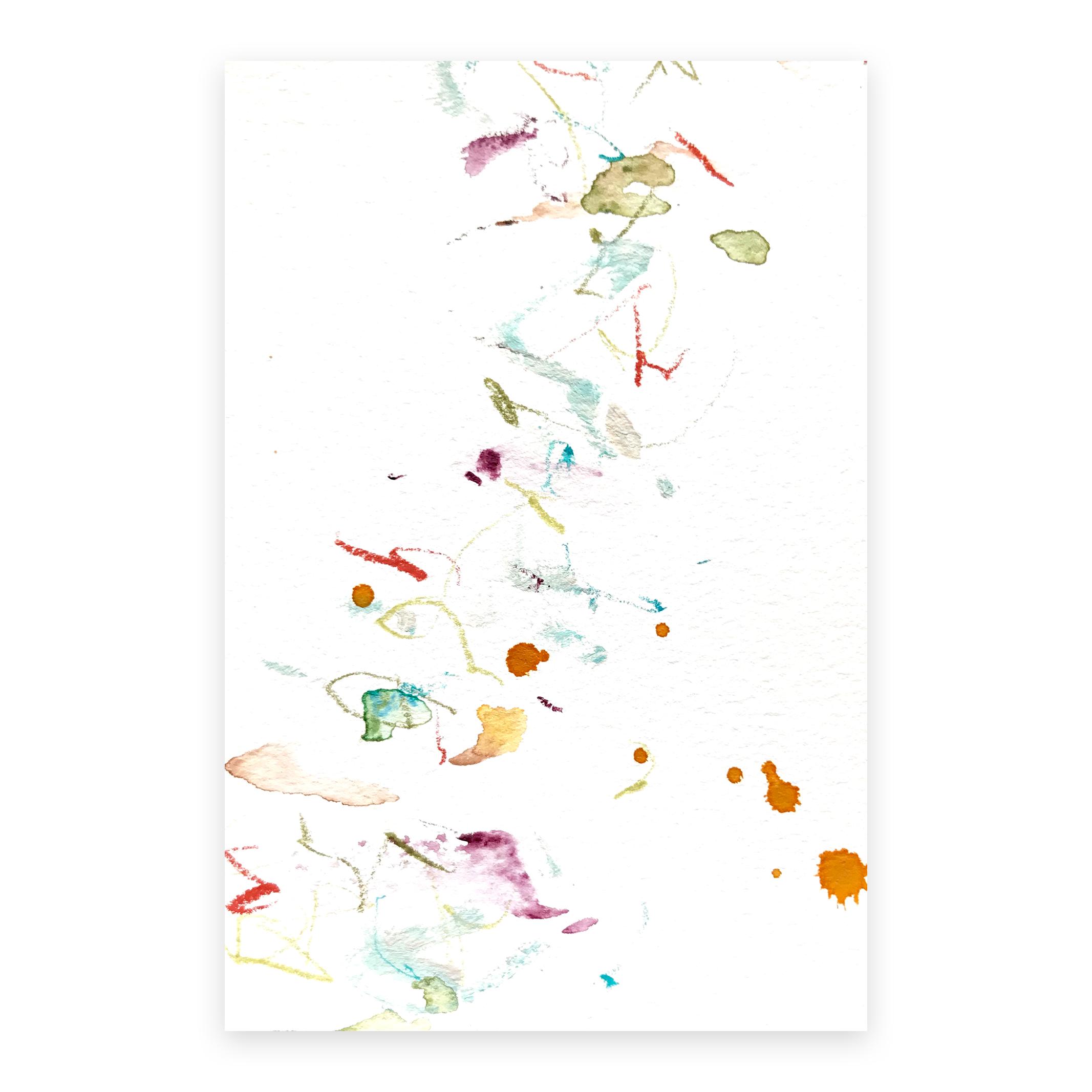 dd_nov25181  Mixed media on paper 14.8×10cm