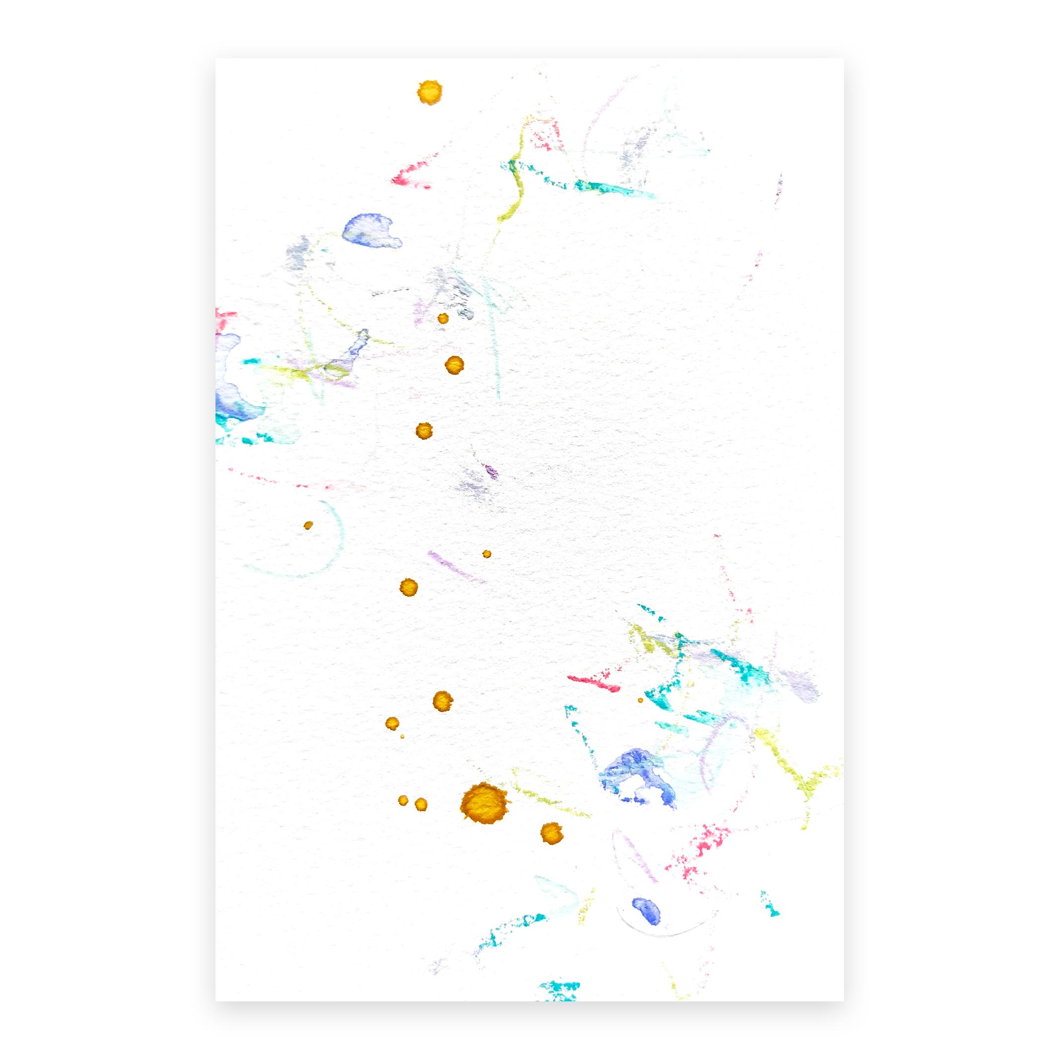 dd_nov28181  Mixed media on paper 14.8×10cm