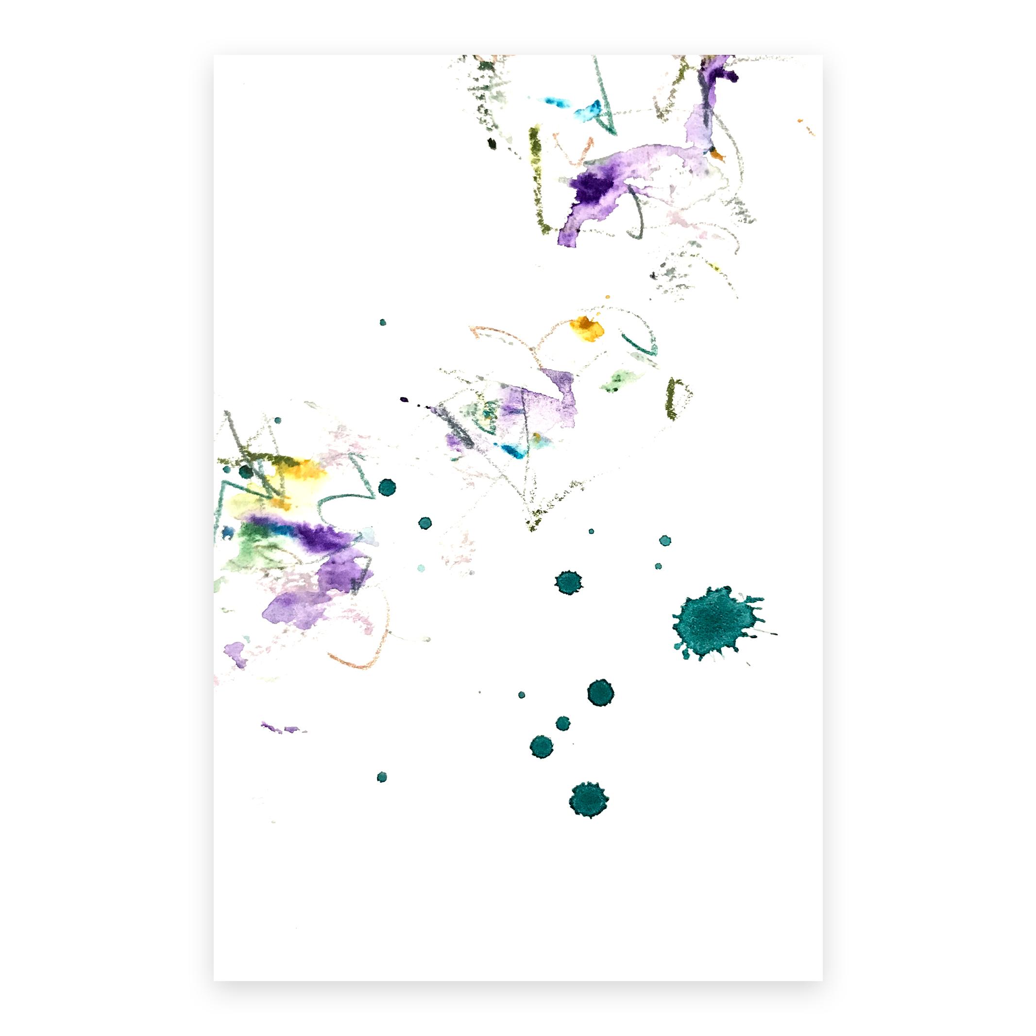 dd_nov29181  Mixed media on paper 14.8×10cm