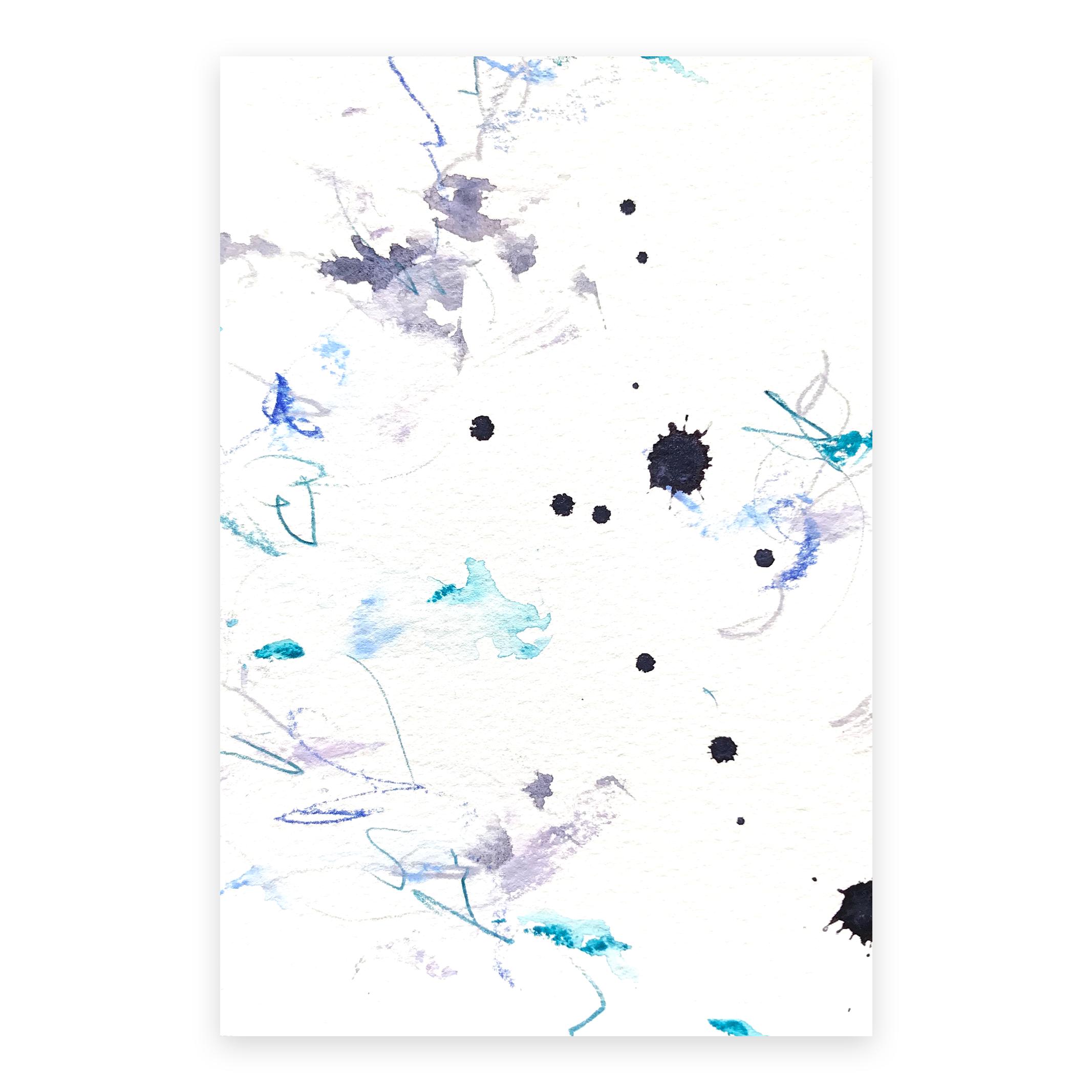 dd_dec01181  Mixed media on paper 14.8×10cm