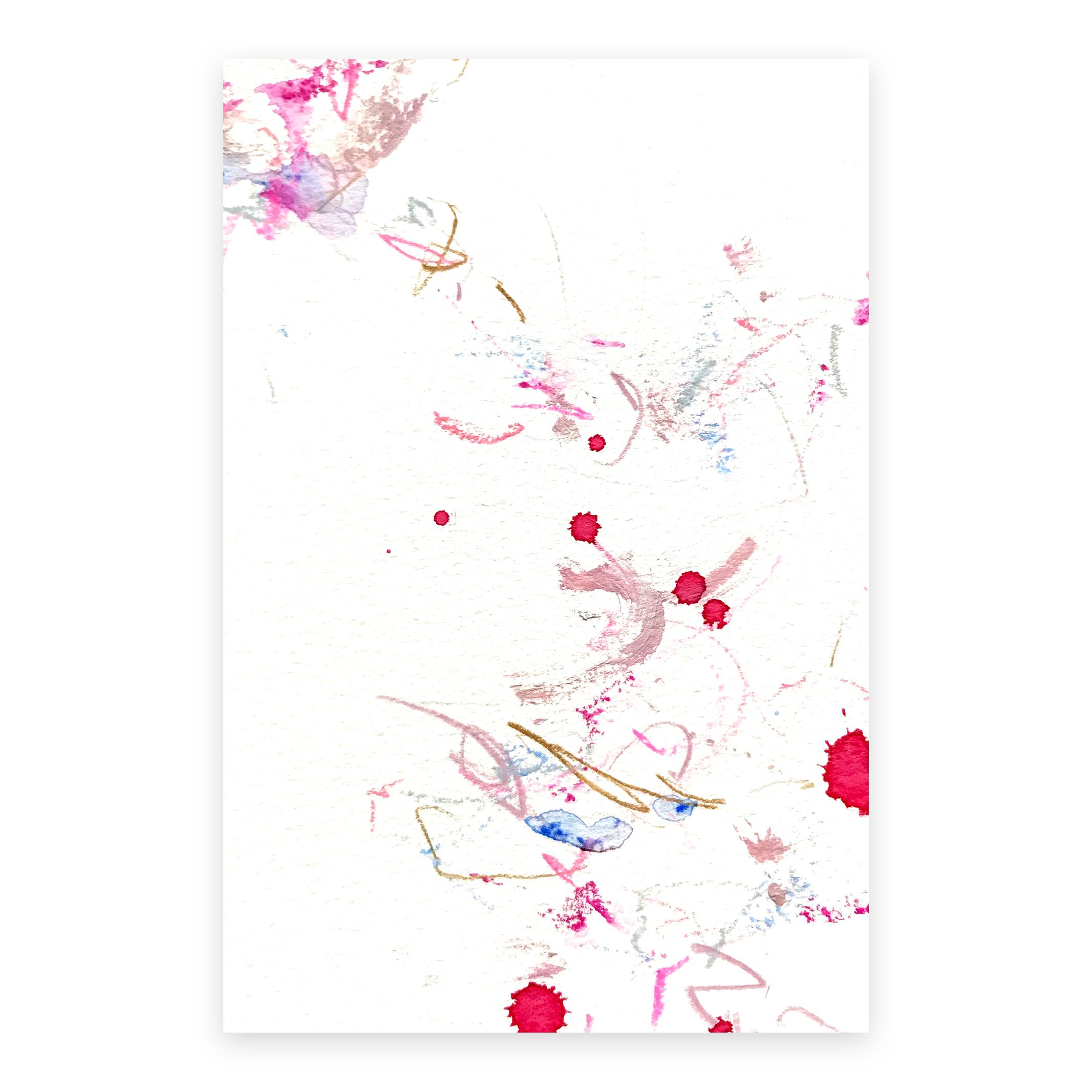 dd_dec08181  Mixed media on paper 14.8×10cm