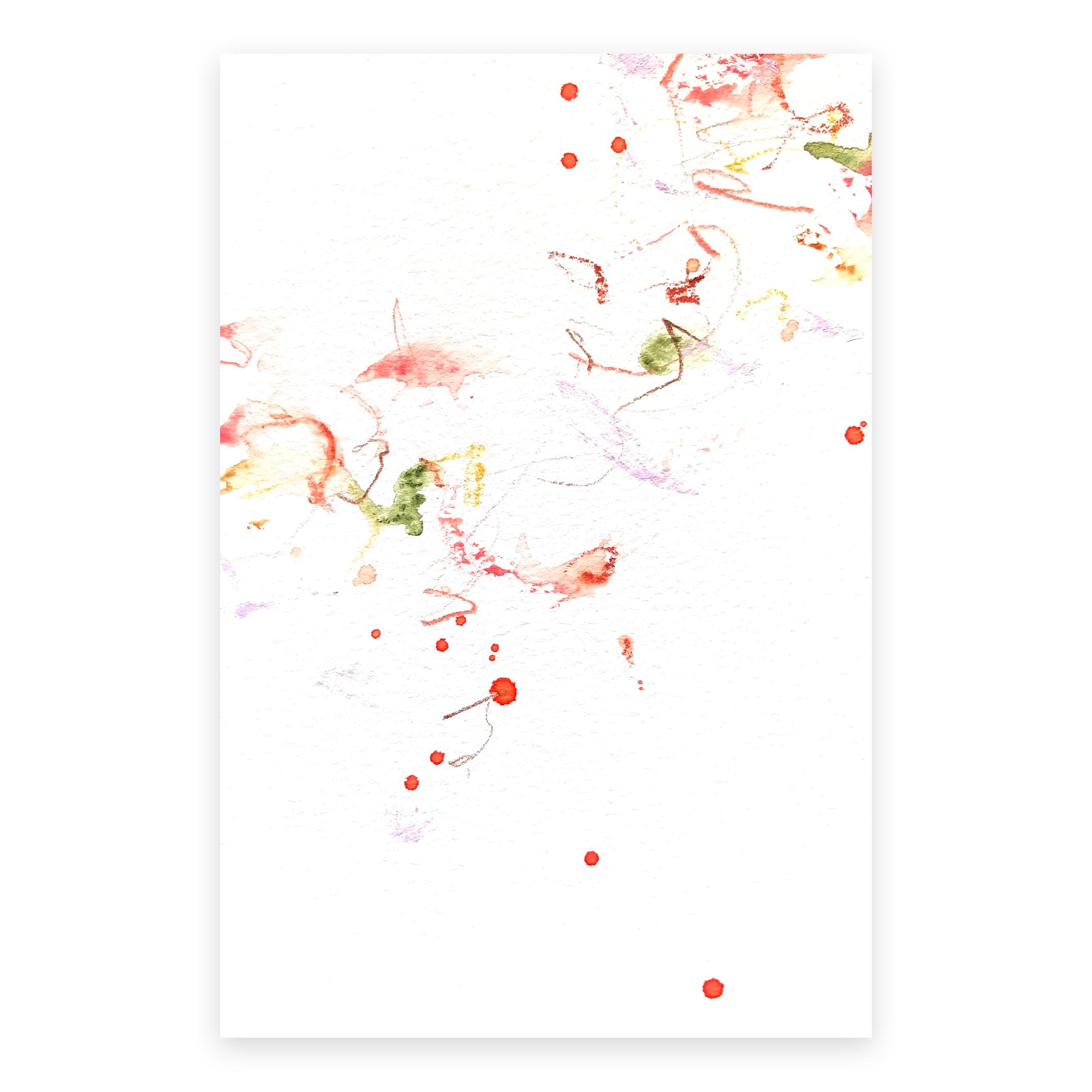 dd_dec14181  Mixed media on paper 14.8×10cm