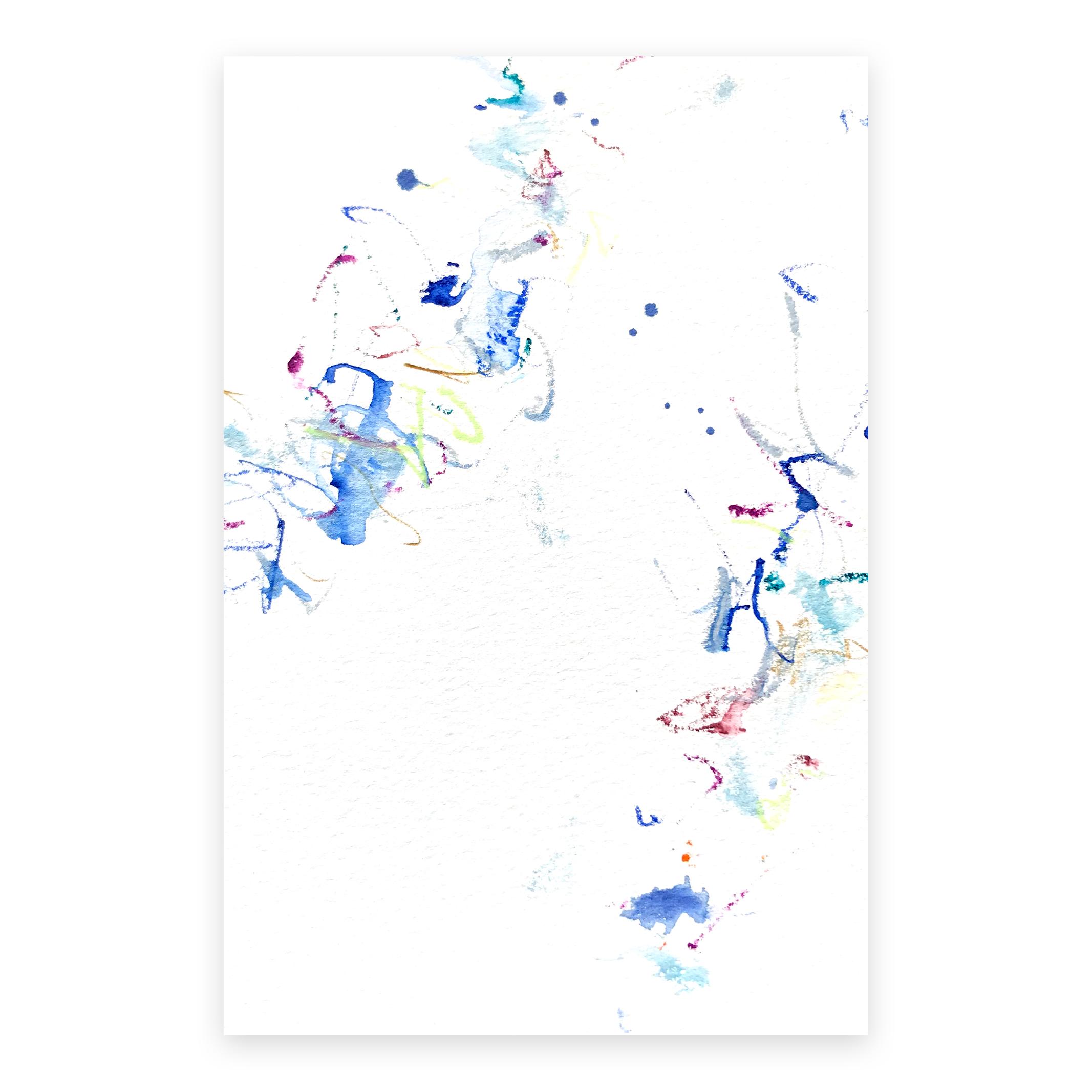 dd_dec16181  Mixed media on paper 14.8×10cm