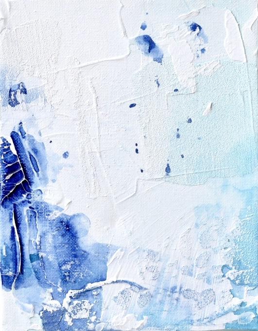Untitled_jun22182  Mixed media on canvas.  18.0×14.0cm