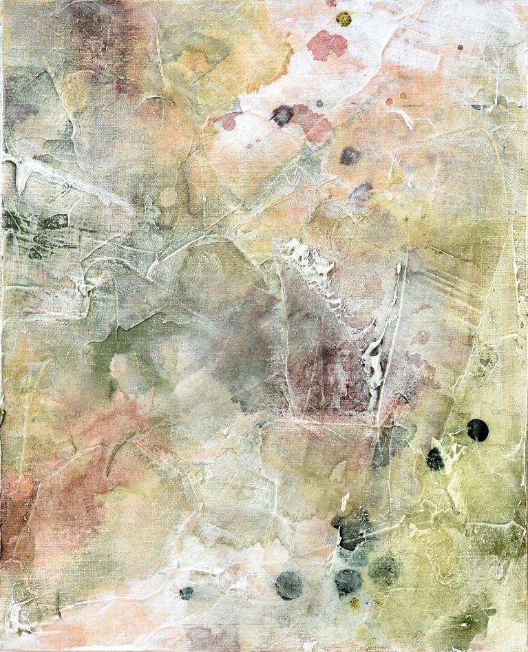 Untitled_jun11182  Mixed media on canvas.  27.3×22cm
