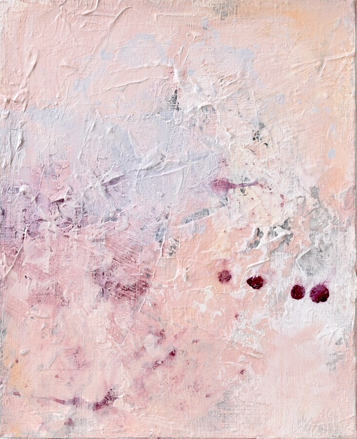 Untitled_feb13181  Mixed media on canvas.  27.3×22cm