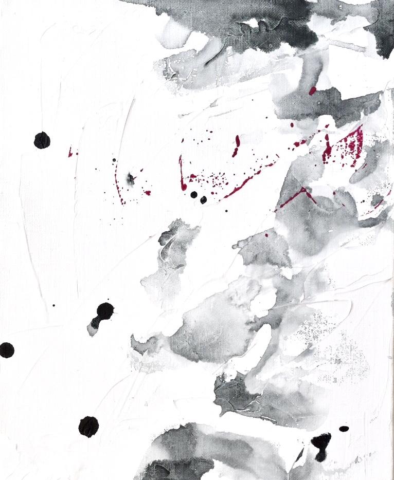 Untitled_feb02181  Mixed media on canvas.  27.3×22cm
