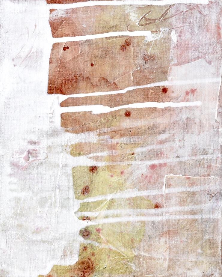Untitled_nov15171  Mixed media on canvas.  27.3×22cm
