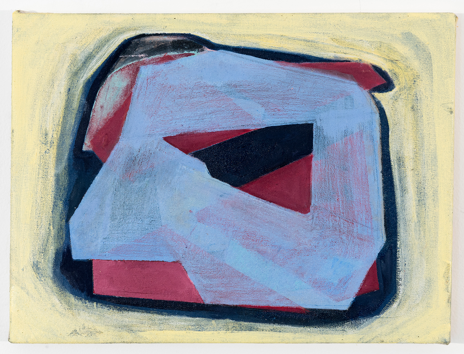 """Iteration Group   Oil on canvas 12"""" x 16"""" 2016"""