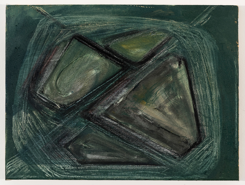 "Site Analysis   Oil on canvas 12"" x 16"" 2016"