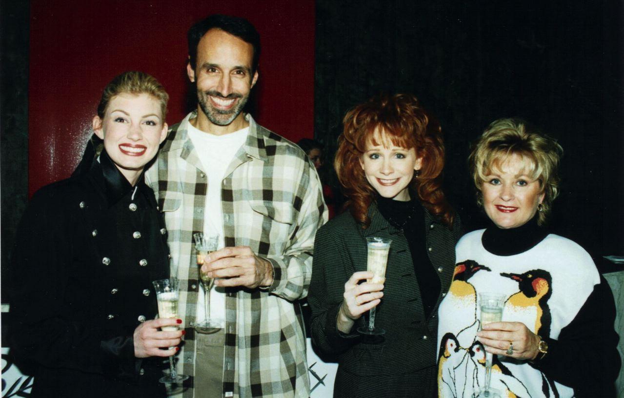 Faith Hill, Mark, Reba McEntire, Bonnie Bradley