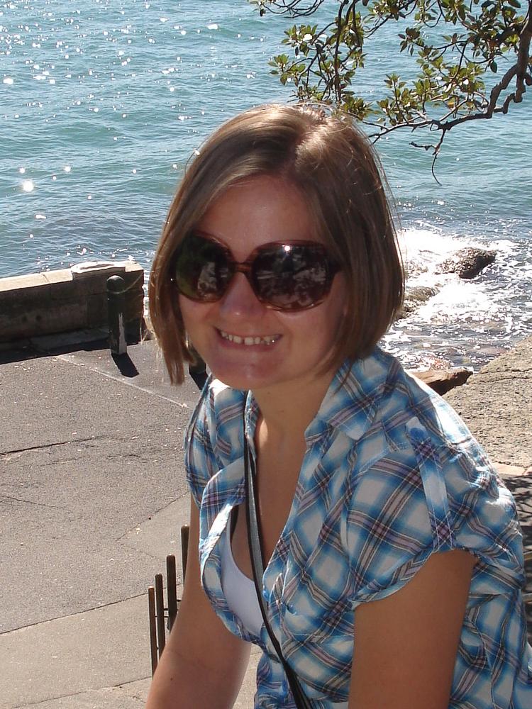 PhD candidate Rebecca Repper