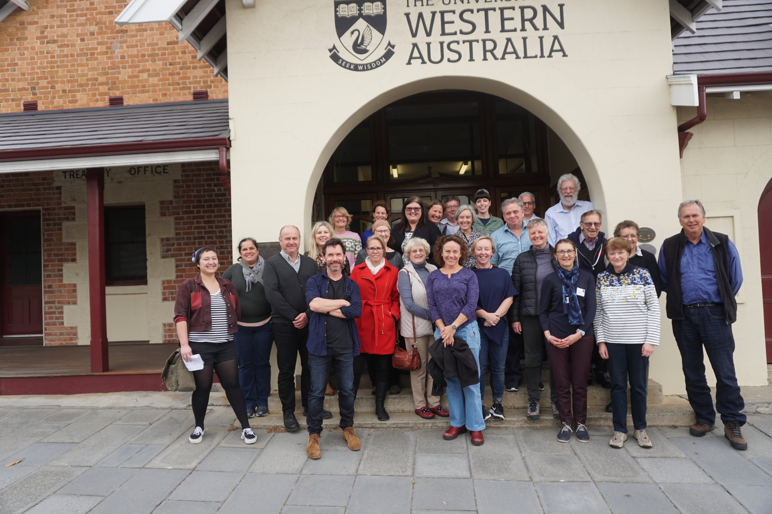 Symposium delegates at the UWA Albany Centre.