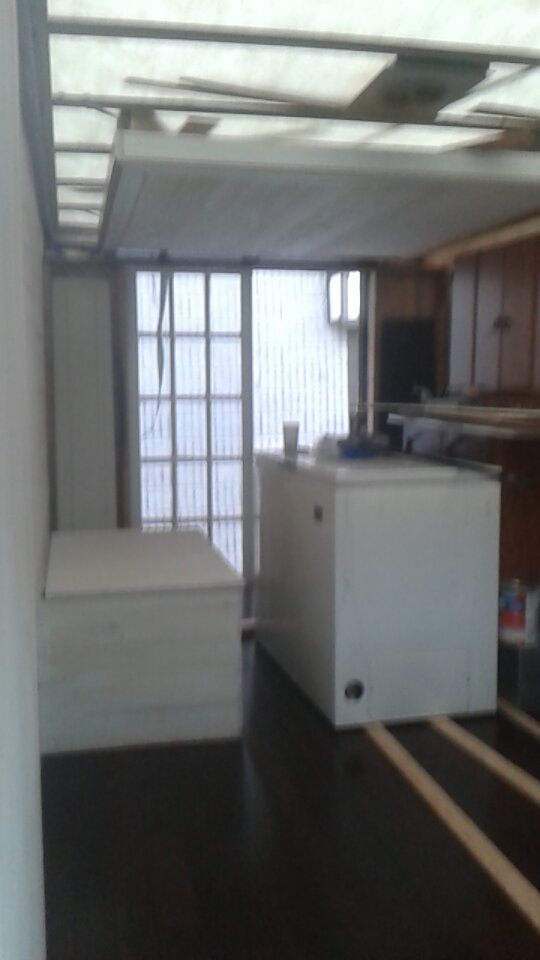 Now for the freezers and other furniture... -