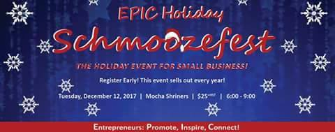 """On December 12, 17 The London Small Business Centre hosted it's annual """"EPIC Holiday Schmoozefest"""" at the lovely Mocha Shriner's Hall in London, Ontario. Not only did this event allow local owners and entrepreneurs the chance to come together to promote their individual businesses and exchange ideas, it included a silent auction whose proceeds went to the Salvation Army. It truly was an EPIC event and Meat Boutique was grateful for the chance to participate"""