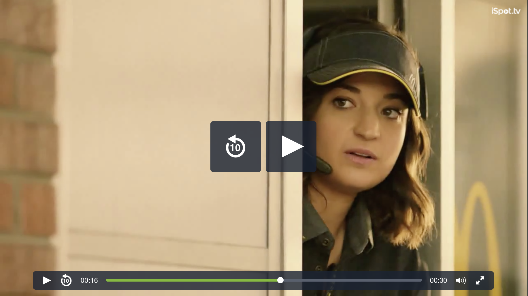 National McDonald's Commercial now airing!